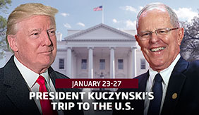 President Kuczynski trip to the U.S.