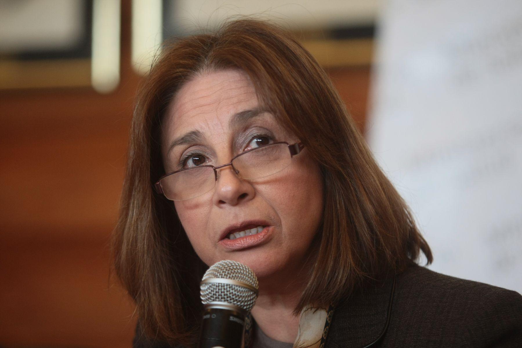 Ministra de Salud, Midori de Habich. Foto: ANDINA/archivo.