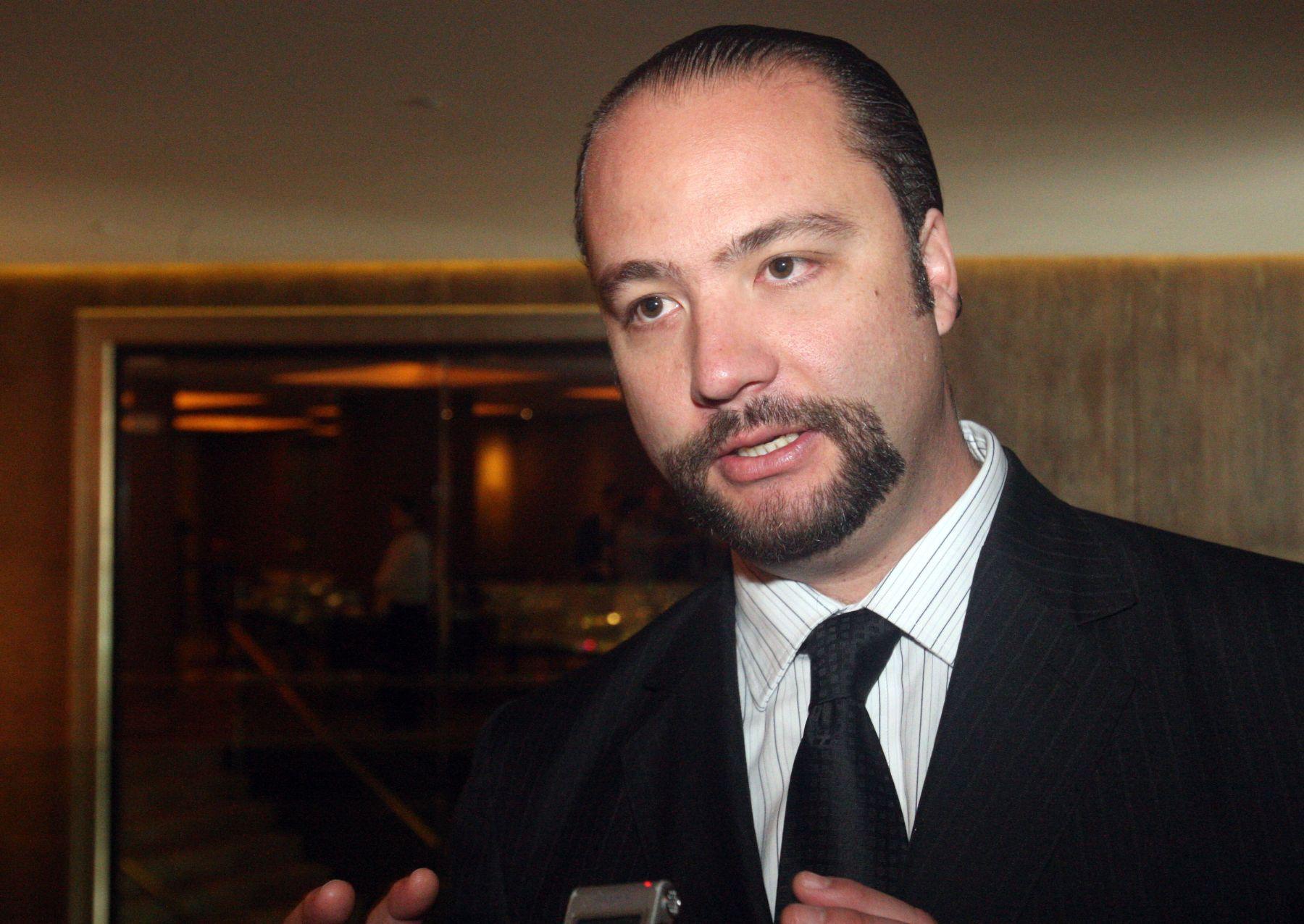 Director ejecutivo del Instituto de Comercio Exterior de la Cámara de Comercio de Lima, Carlos Posada. ANDINA/Héctor Vinces