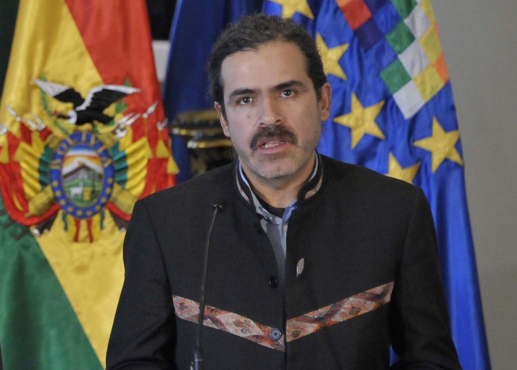 Vicecanciller de Bolivia, Juan Carlos Alurralde. Foto: ABI/ANDINA/Difusión.