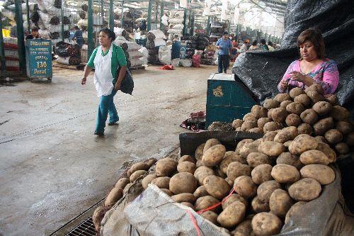 Mercado Mayorista de Santa Anita.Foto:  ANDINA/archivo.