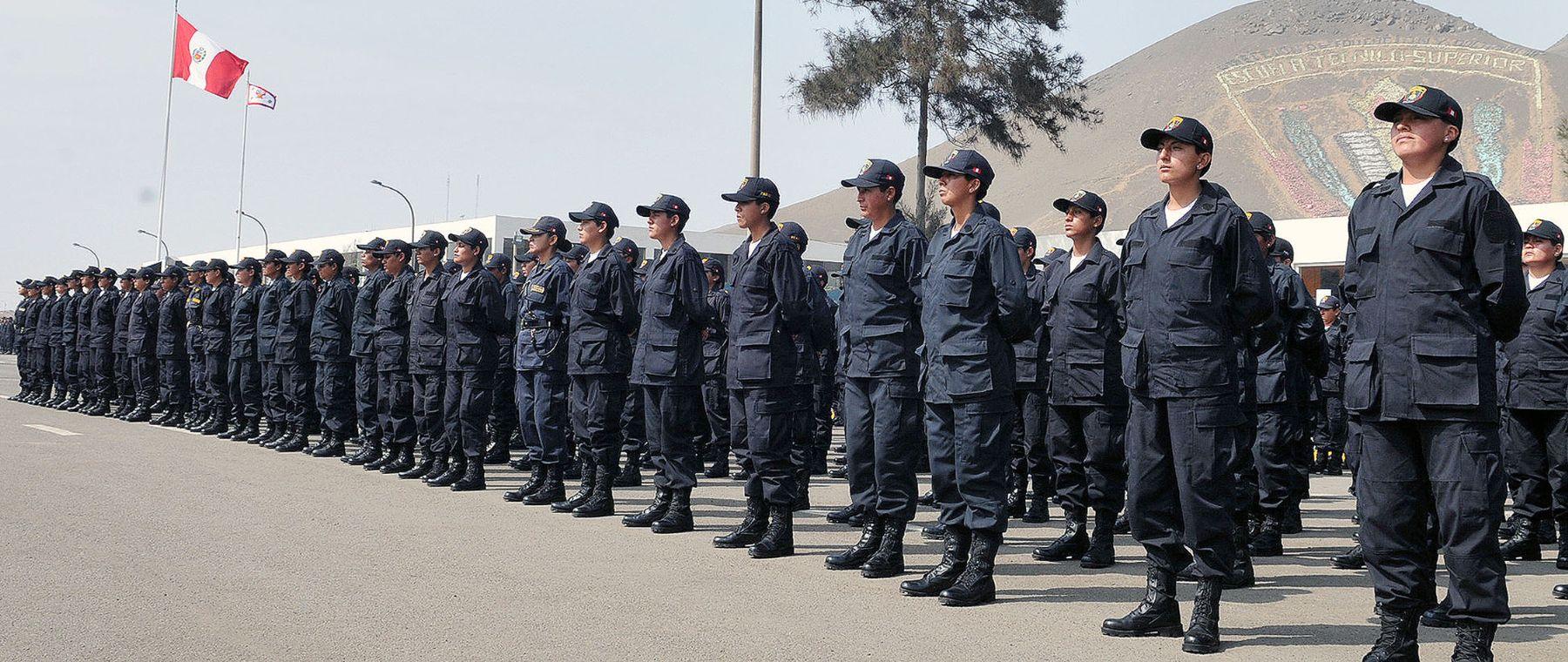 Convocatoria a Policía Nacional. Foto: Mininter.
