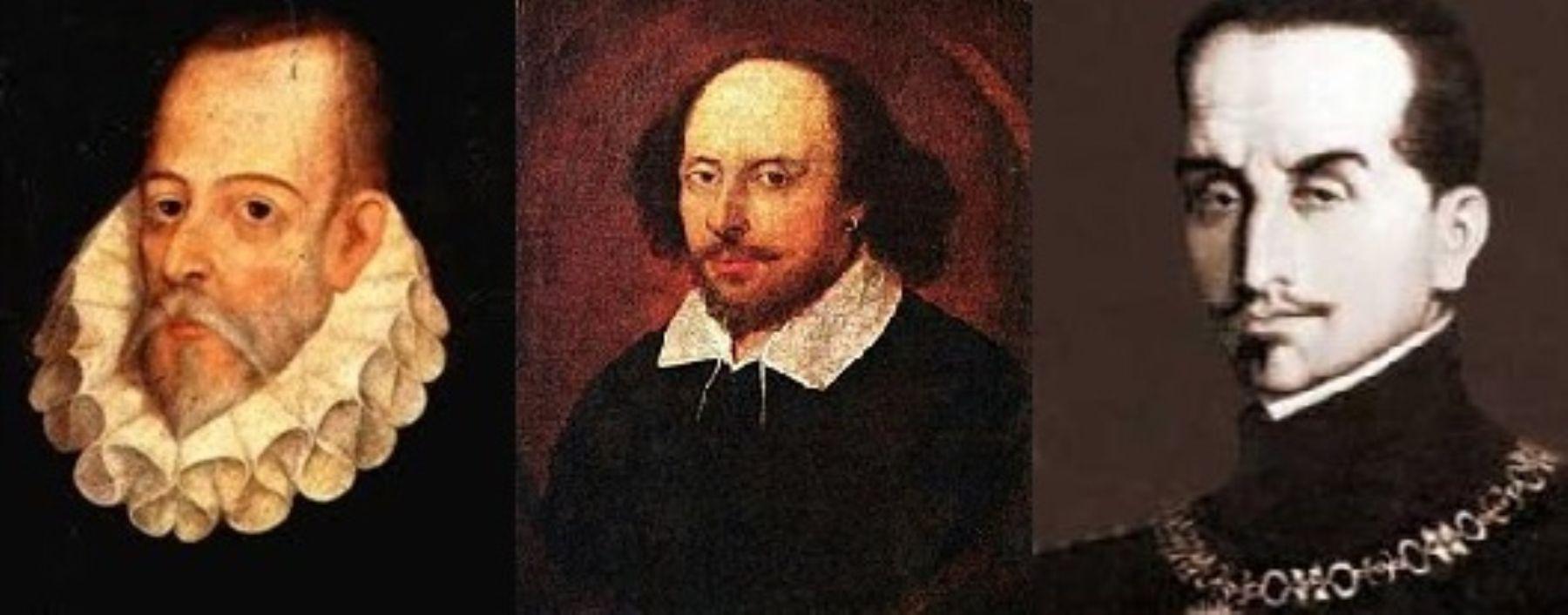 Resultado de imagen para Cervantes, Shakespeare y Inca Garcilaso