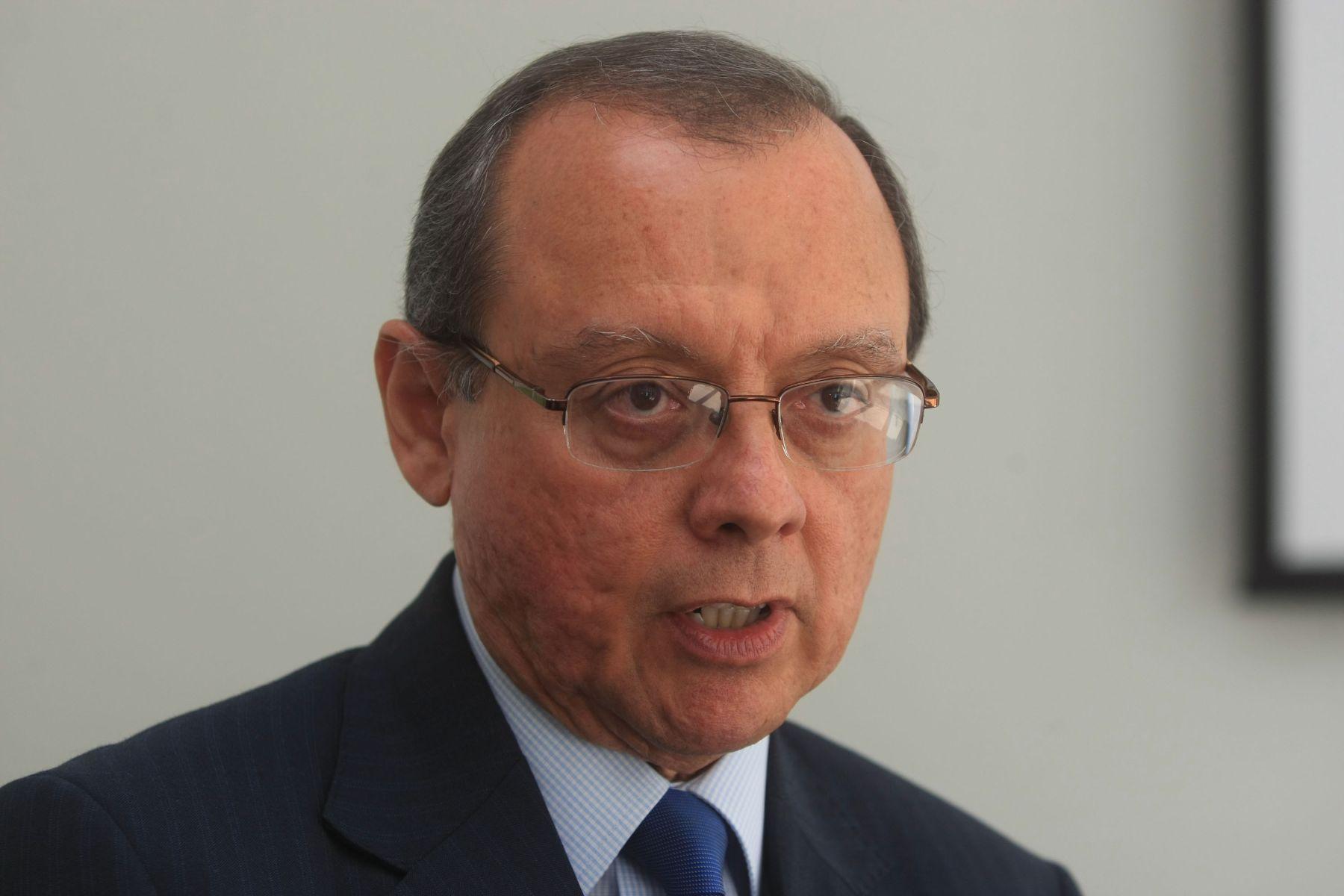 Viceministro de Salud, José del Carmen Sara. Foto: ANDINA/Juan Carlos Guzmán.