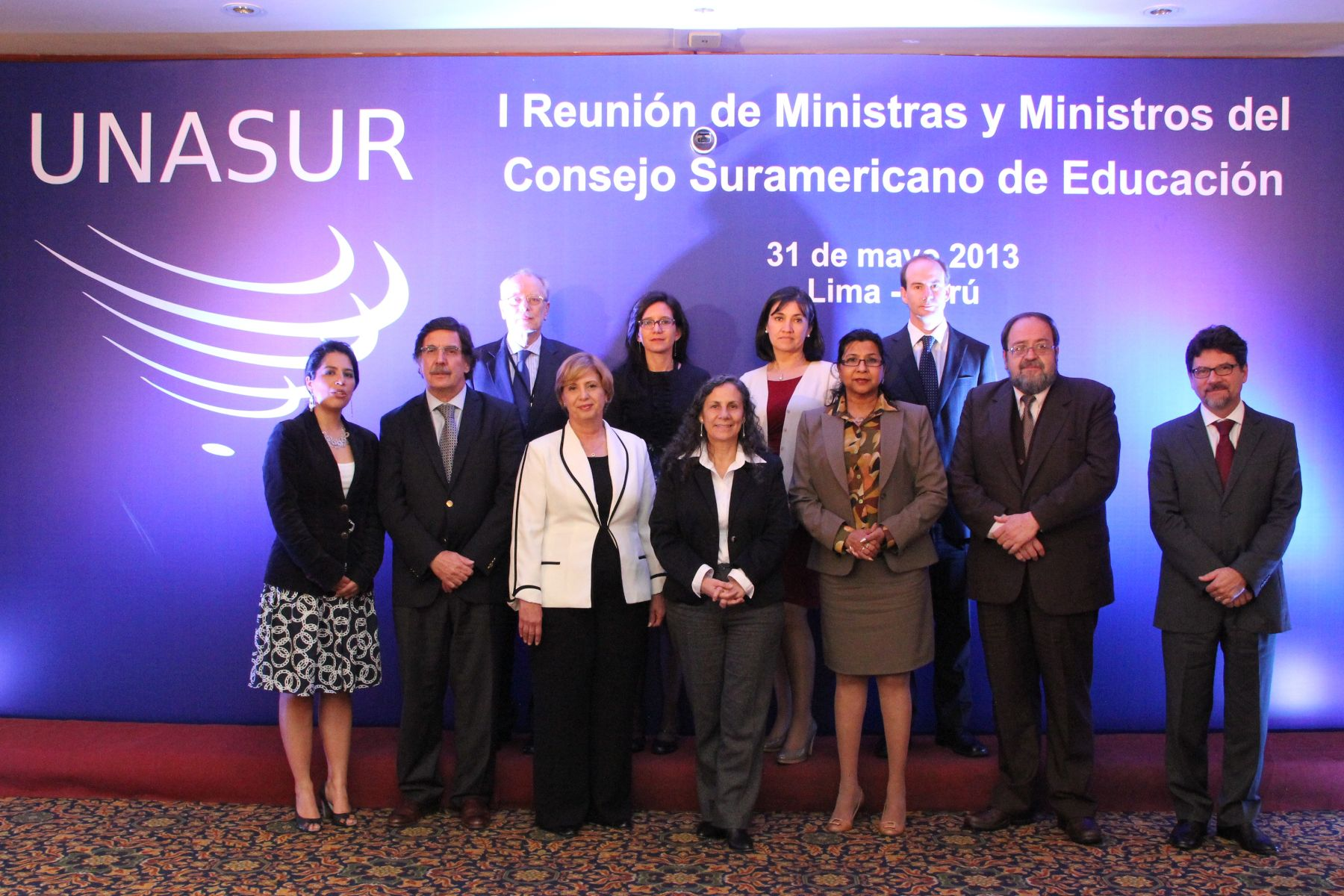 The First Meeting of the South American Culture Council takes place in Lima, Peru.