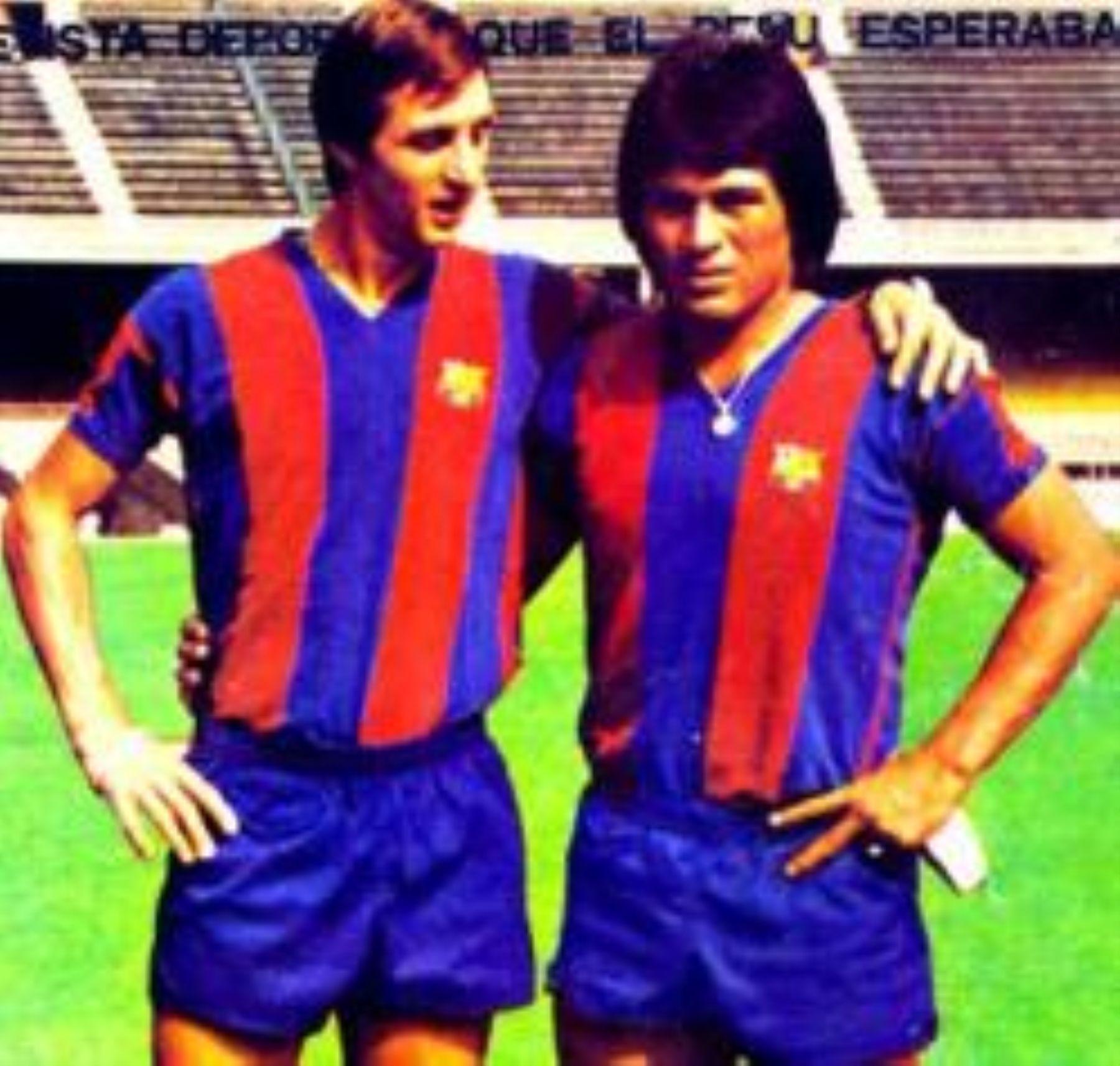 """Johan Cruyff: """"Con Hugo Sotil hicimos una campaña ..."""