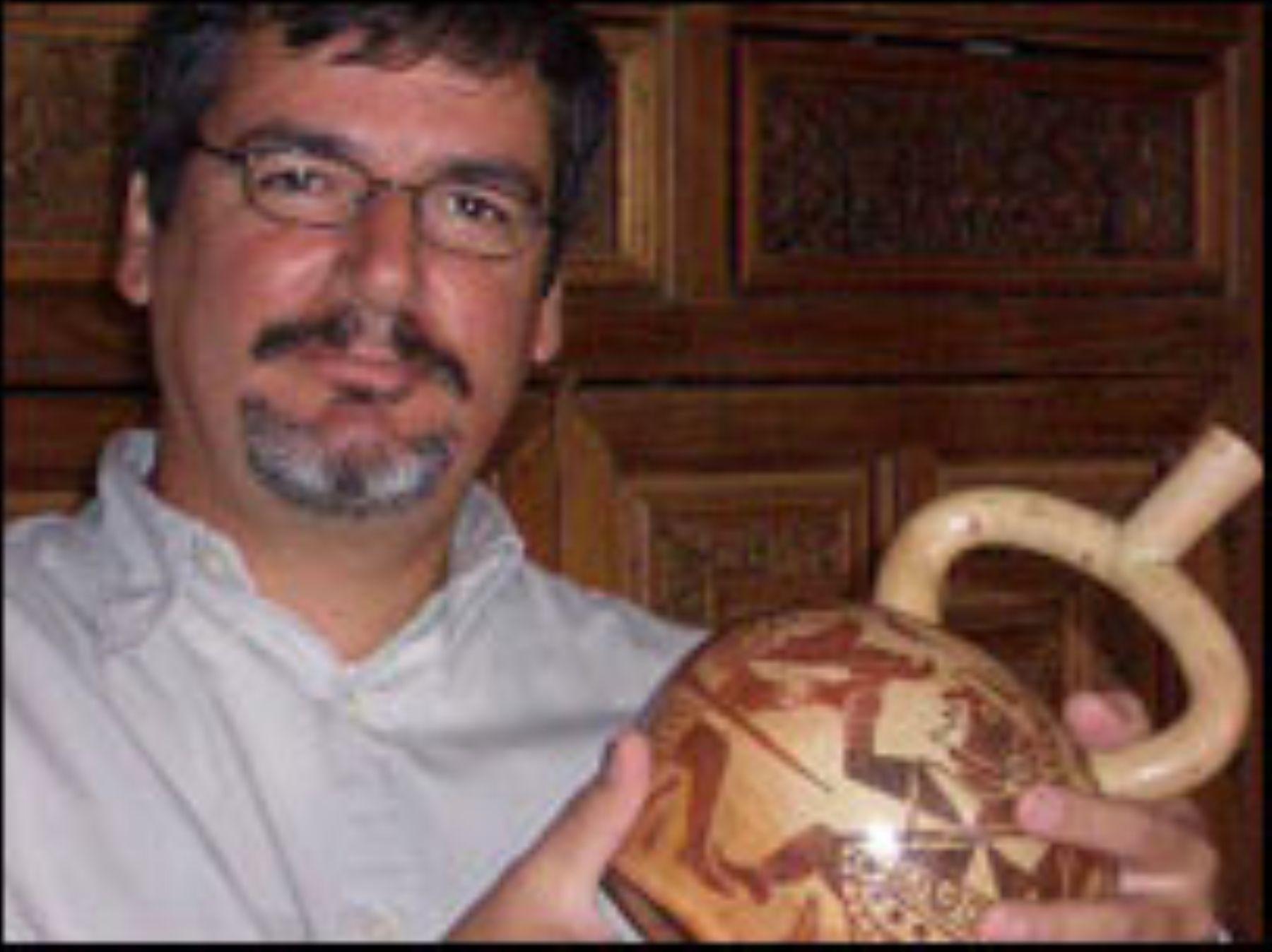 El arqueólogo Luis Jaime Castillo Butters es el nuevo viceministro de Patrimonio Cultural e Industrias Culturales.