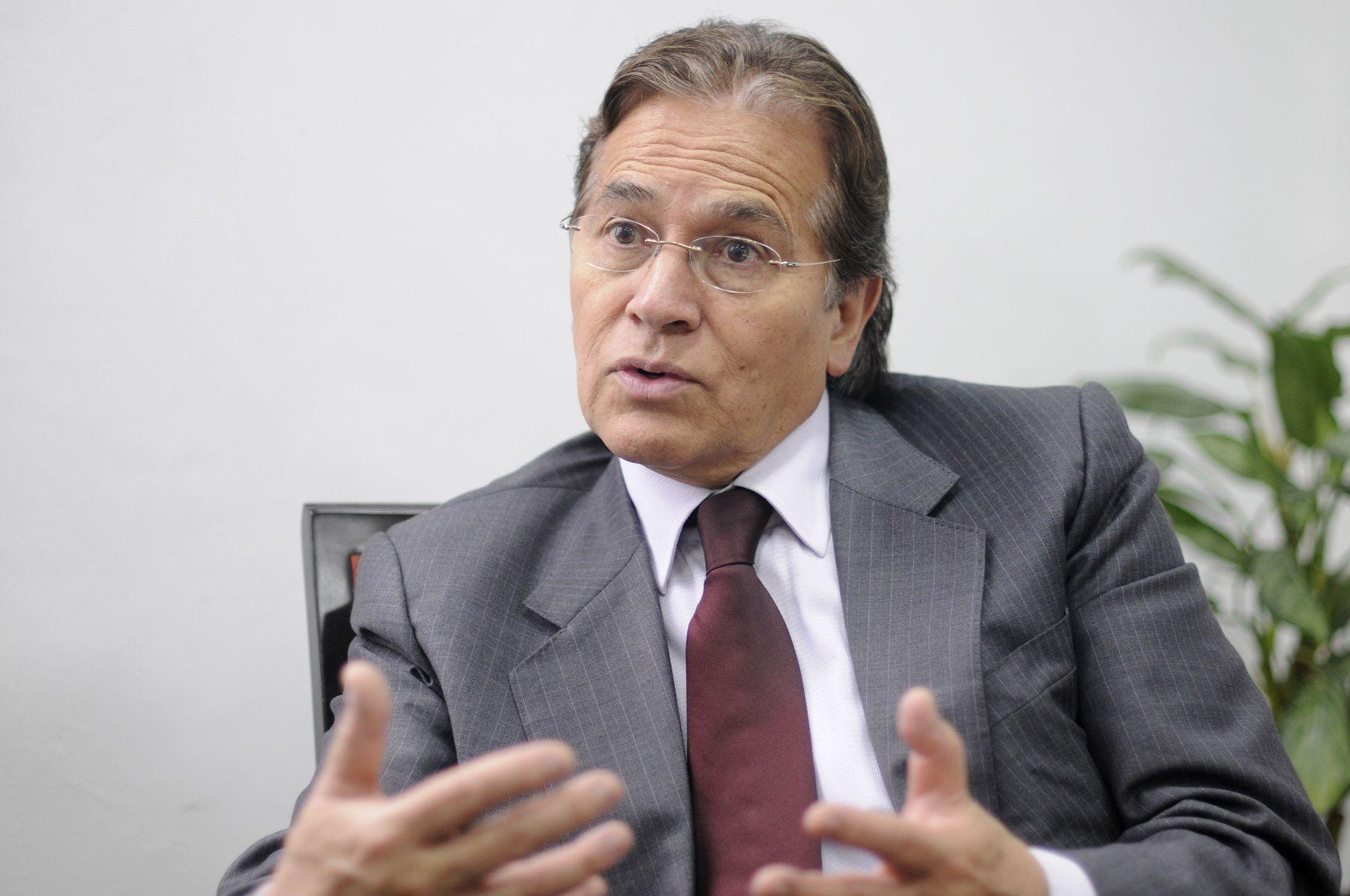 Vladimiro Huaroc, Jéfe de la oficina de dialogo y sostenibilidad de la PCM. Foto: ANDINA/Archivo