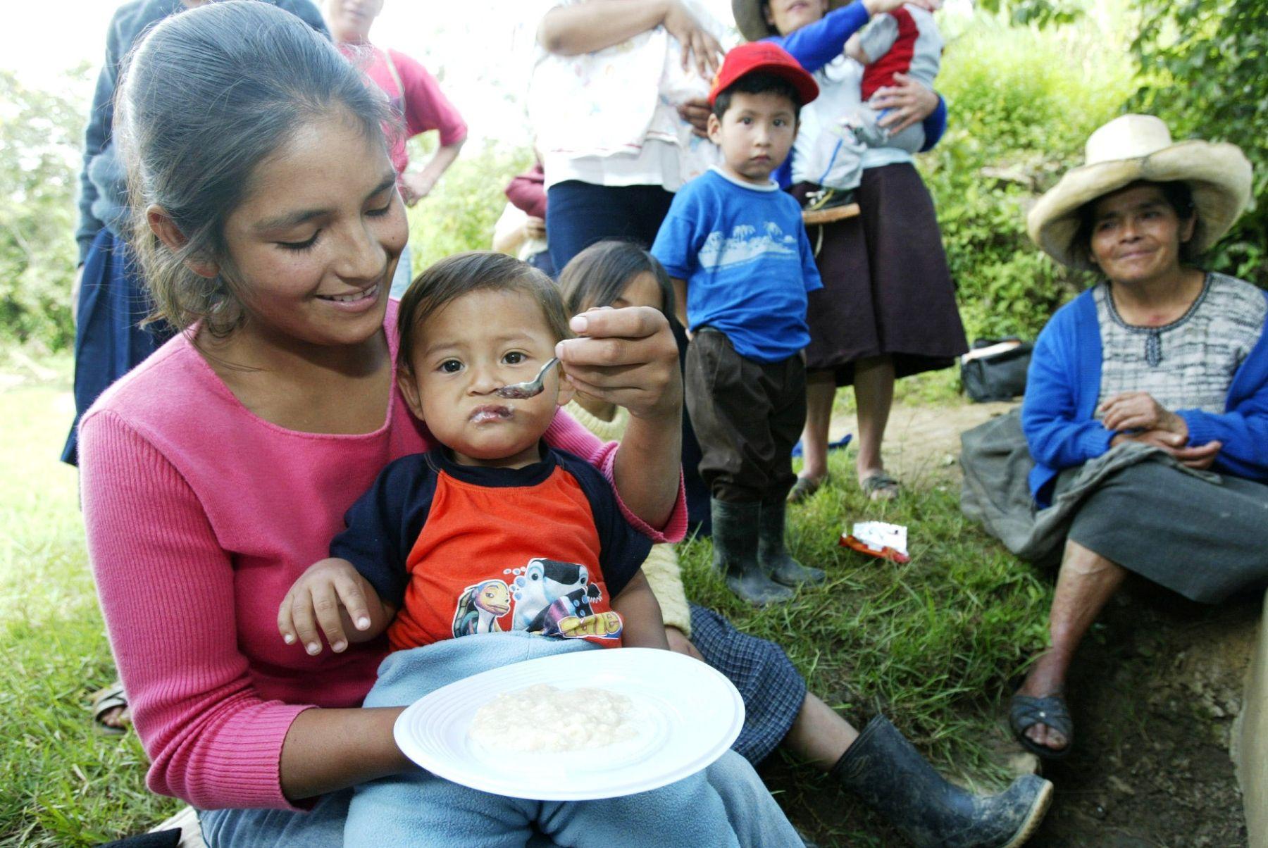 Expertos ayudarán a reducir desnutrición infantil. Foto: ANDINA/archivo