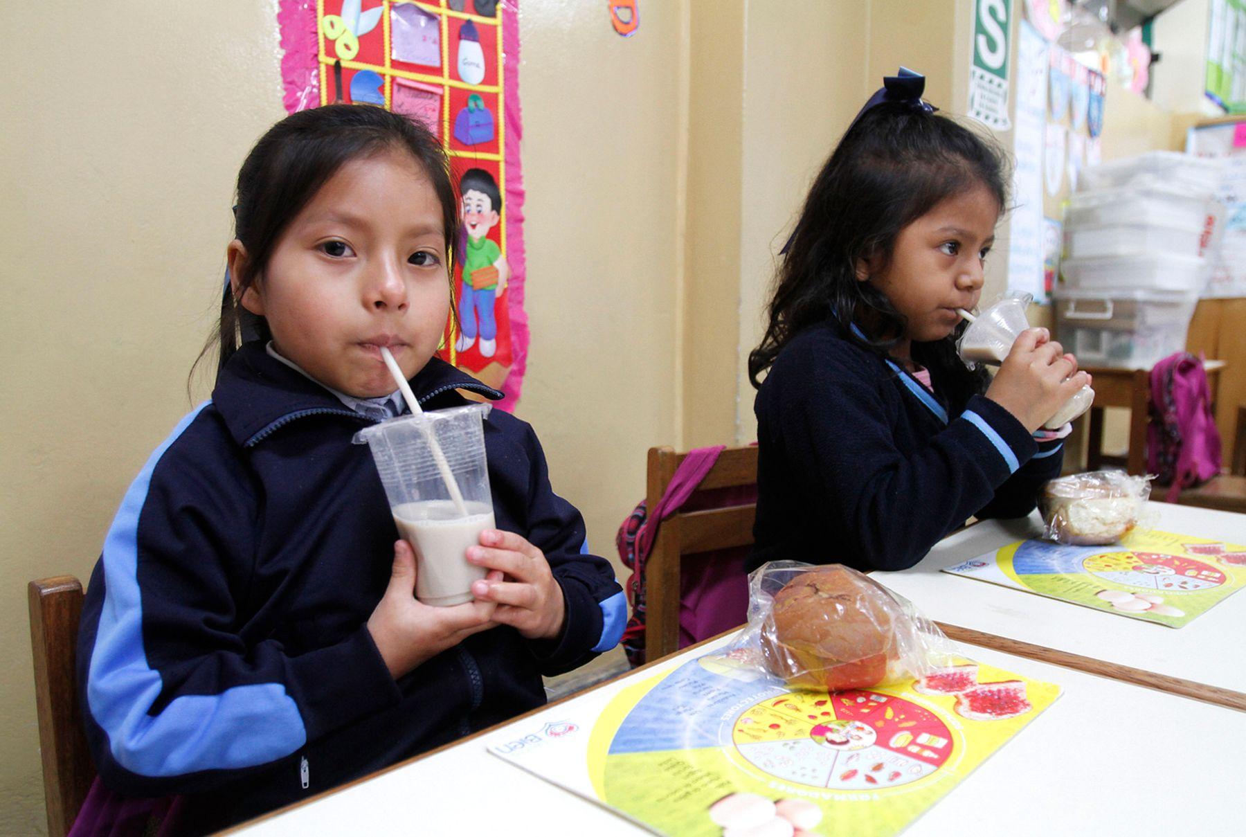 El 2014 Qali Warma emtregará utensilio y menaje de cocina a colegios de todo el país. ANIDNA/Difusión