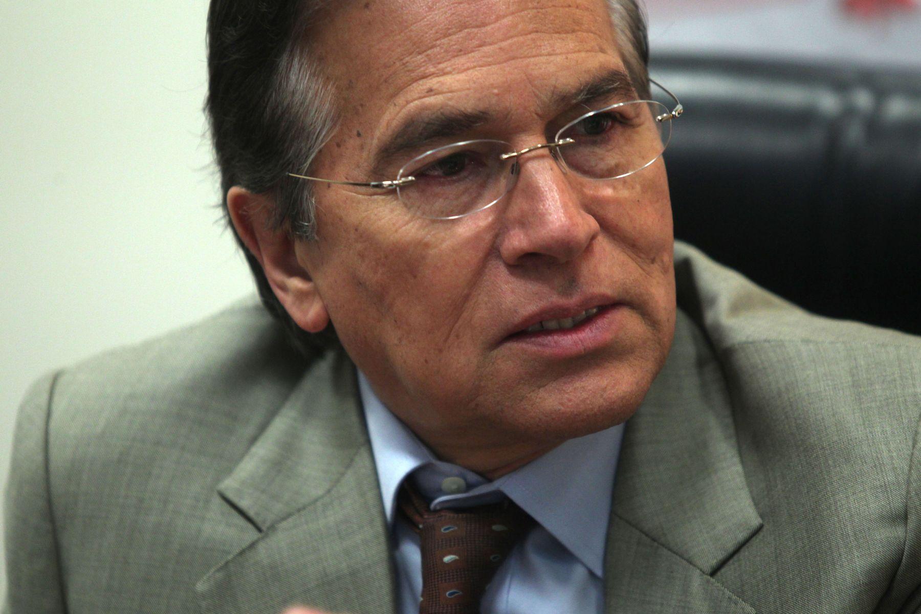 Vladimiro Huaroc, jefe de la Oficina de Dialogo y Sostenibilidad de la PCM. Foto: ANDINA/Archivo.