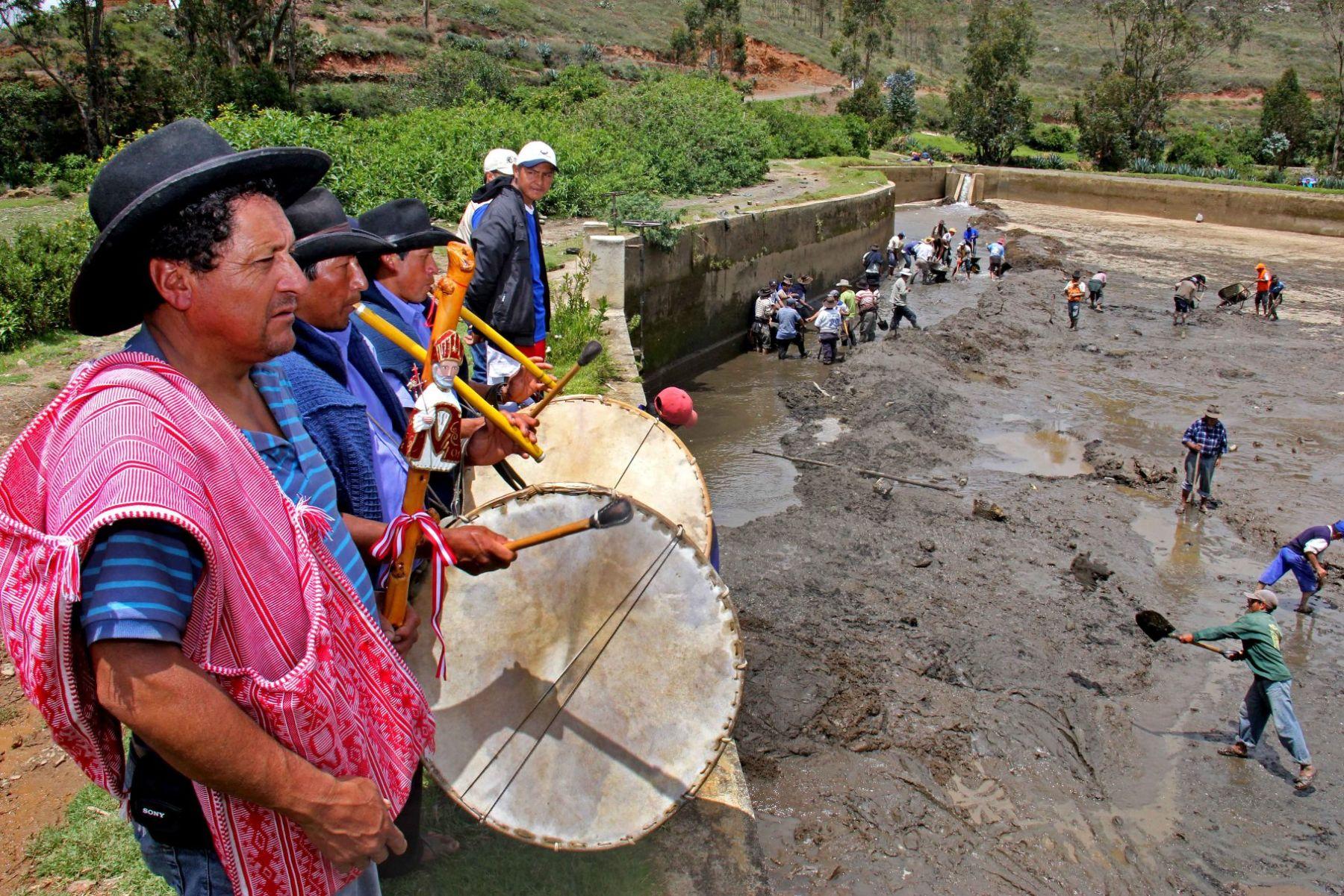 Un equipo de especialistas del Ministerio de Cultura registró las actividades de los Jueces de Agua de Corongo, en Áncash.