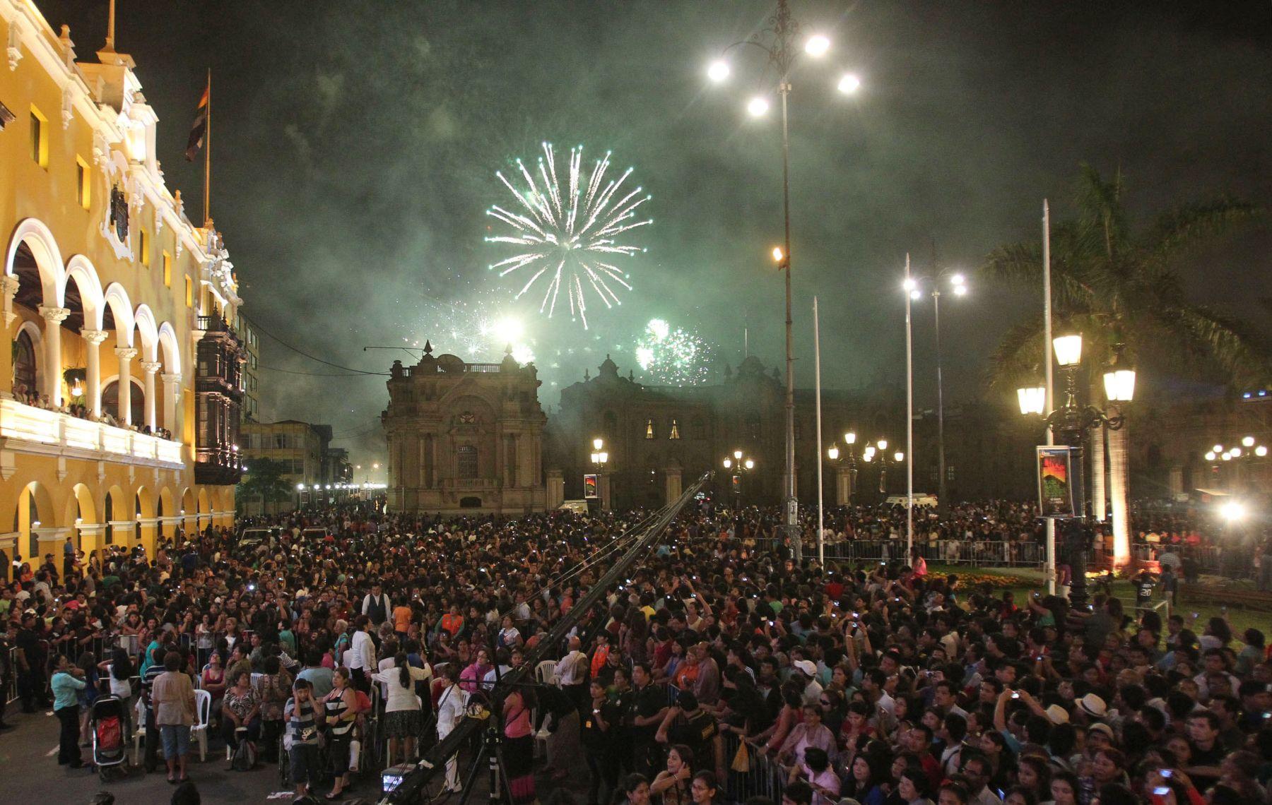 LIMA,PERU-ENERO 18 .Celebraciones por el Aniversario de Lima. Foto: ANDINA/Vidal Tarqui