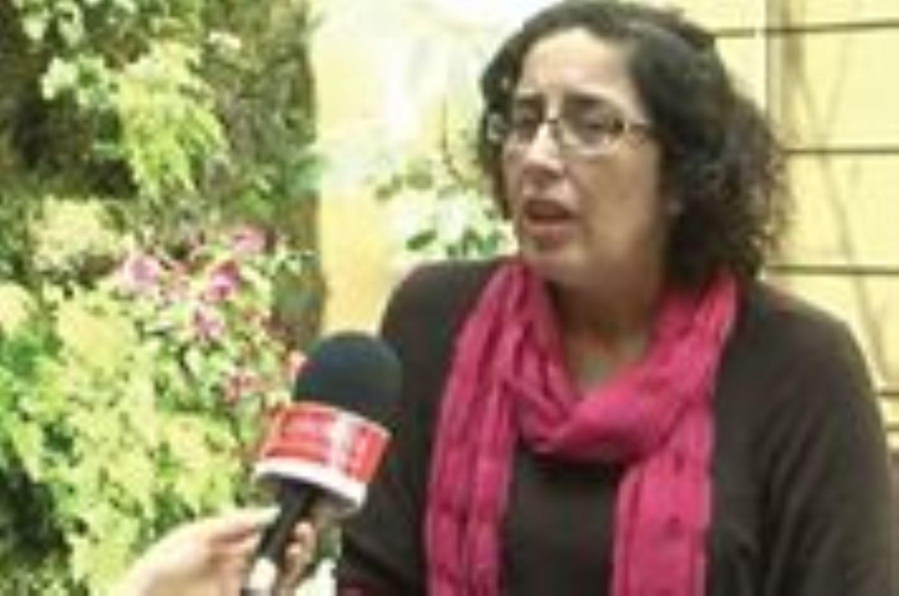 Psicóloga Ximena Castro.