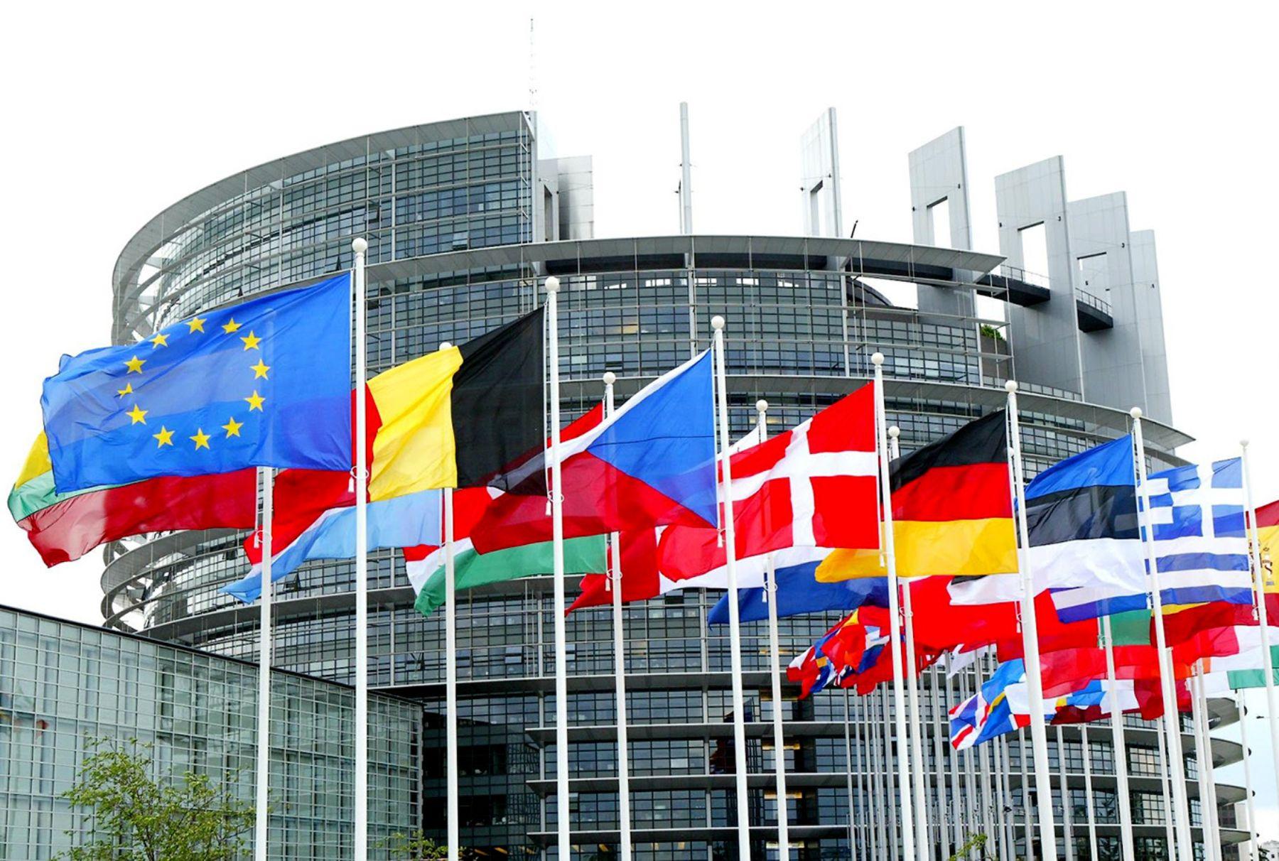 Sede del Parlamento Europeo, Bruselas. INTERNET/Medios