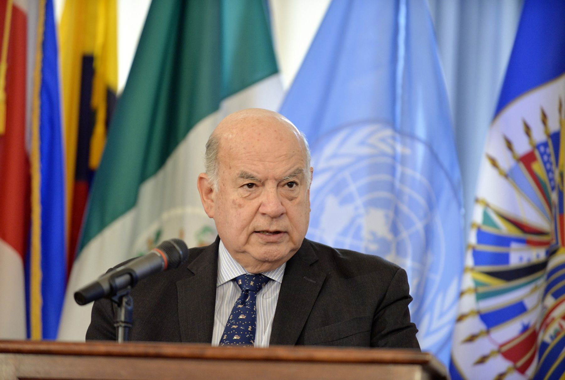 Secretario General de la OEA, José Miguel Insulza.ANDINA/Difusión