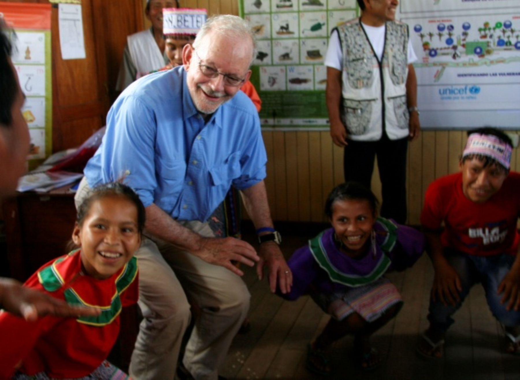 UNICEF: Progreso en beneficio de los niños peruanos es evidente