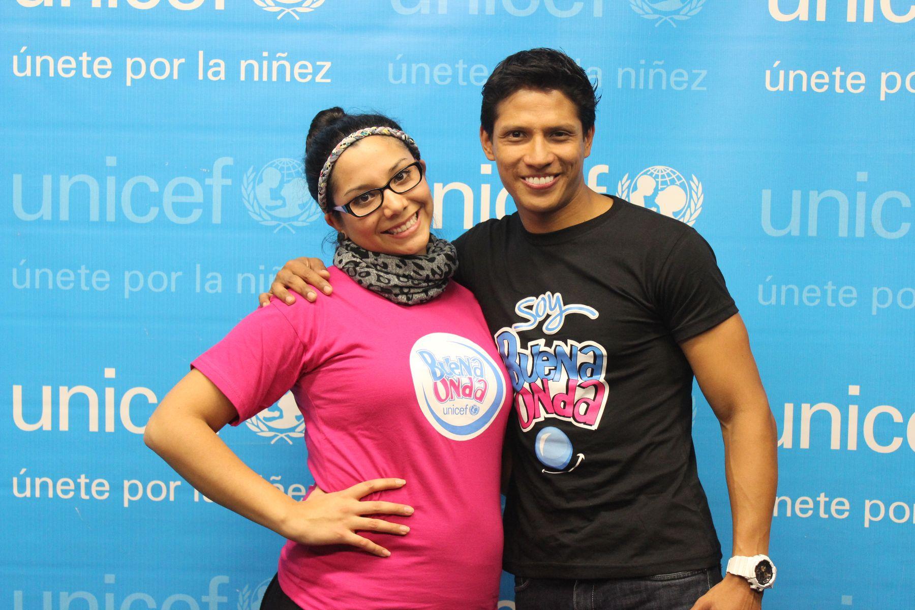Mayra y André.