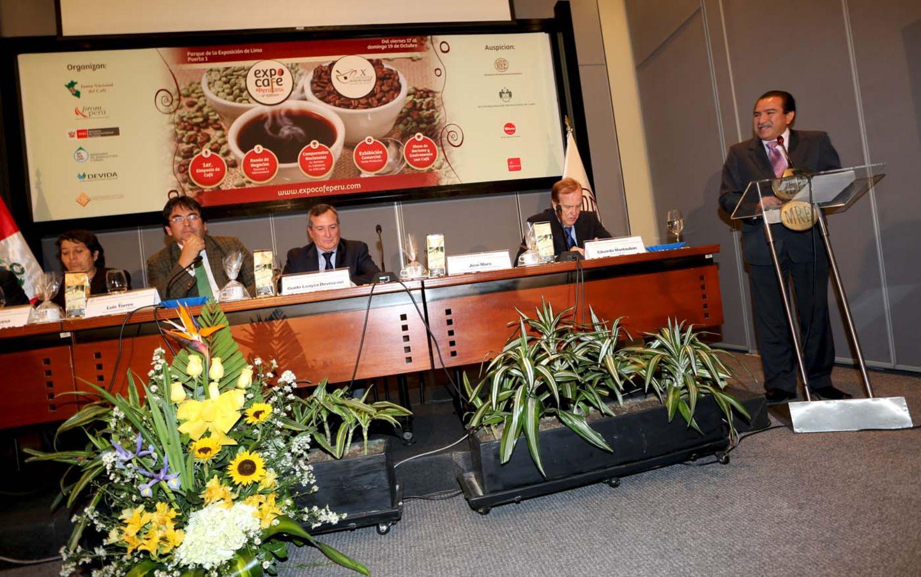 presentación de Expocafé 2014.