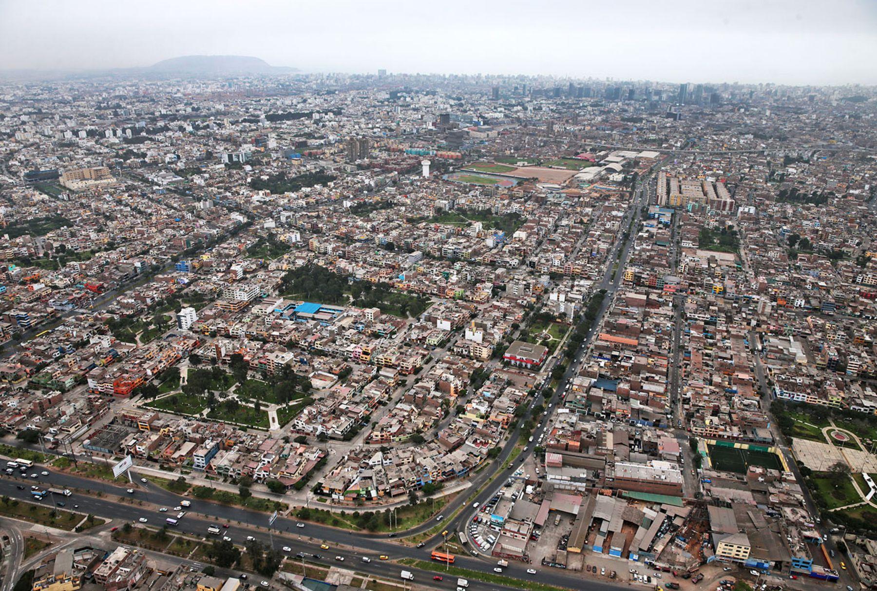 Lima. Foto: ANDINA/Carlos Lezama.