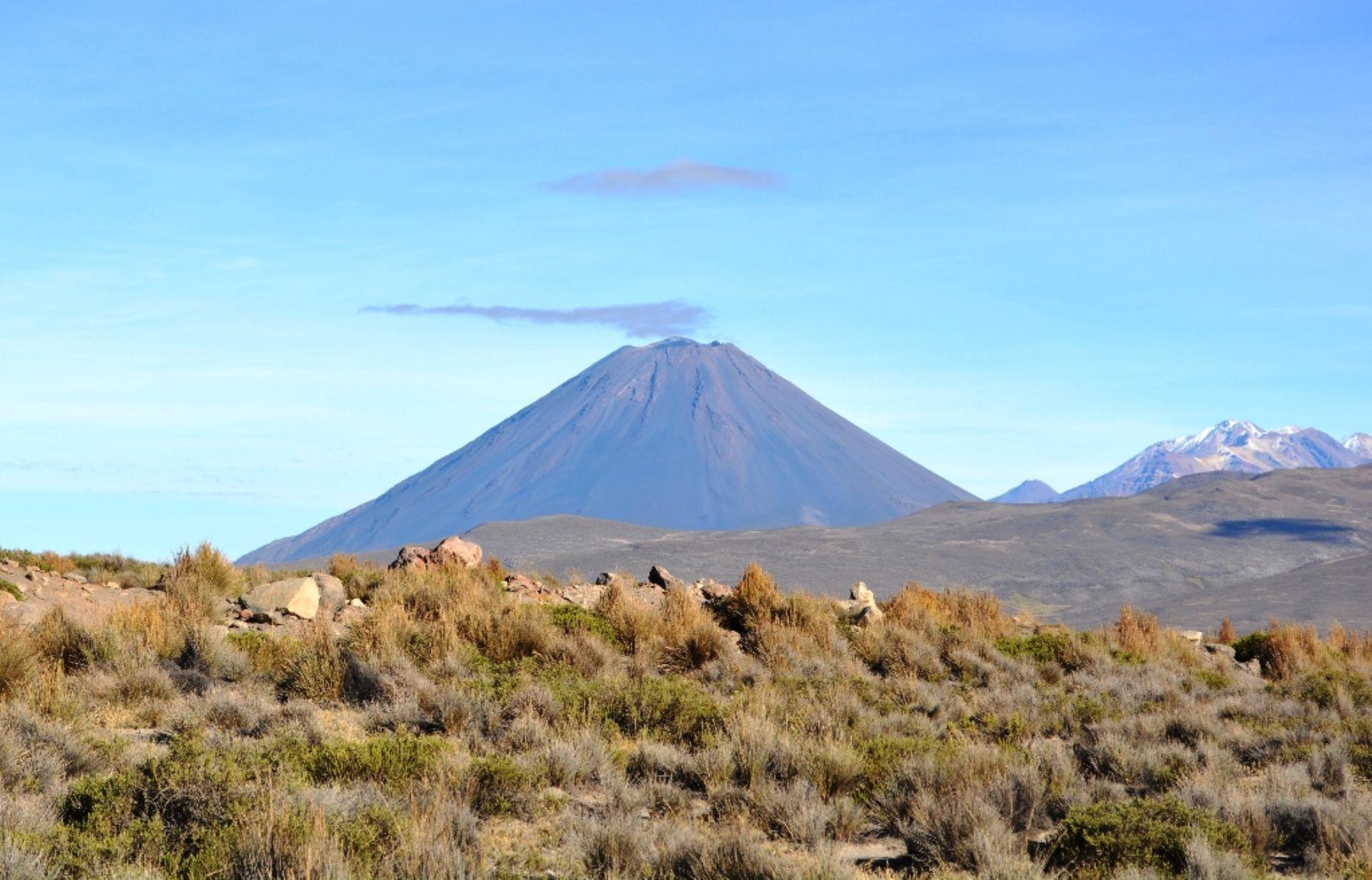 Volcán Misti, en Arequipa. ANDINA/Difusión
