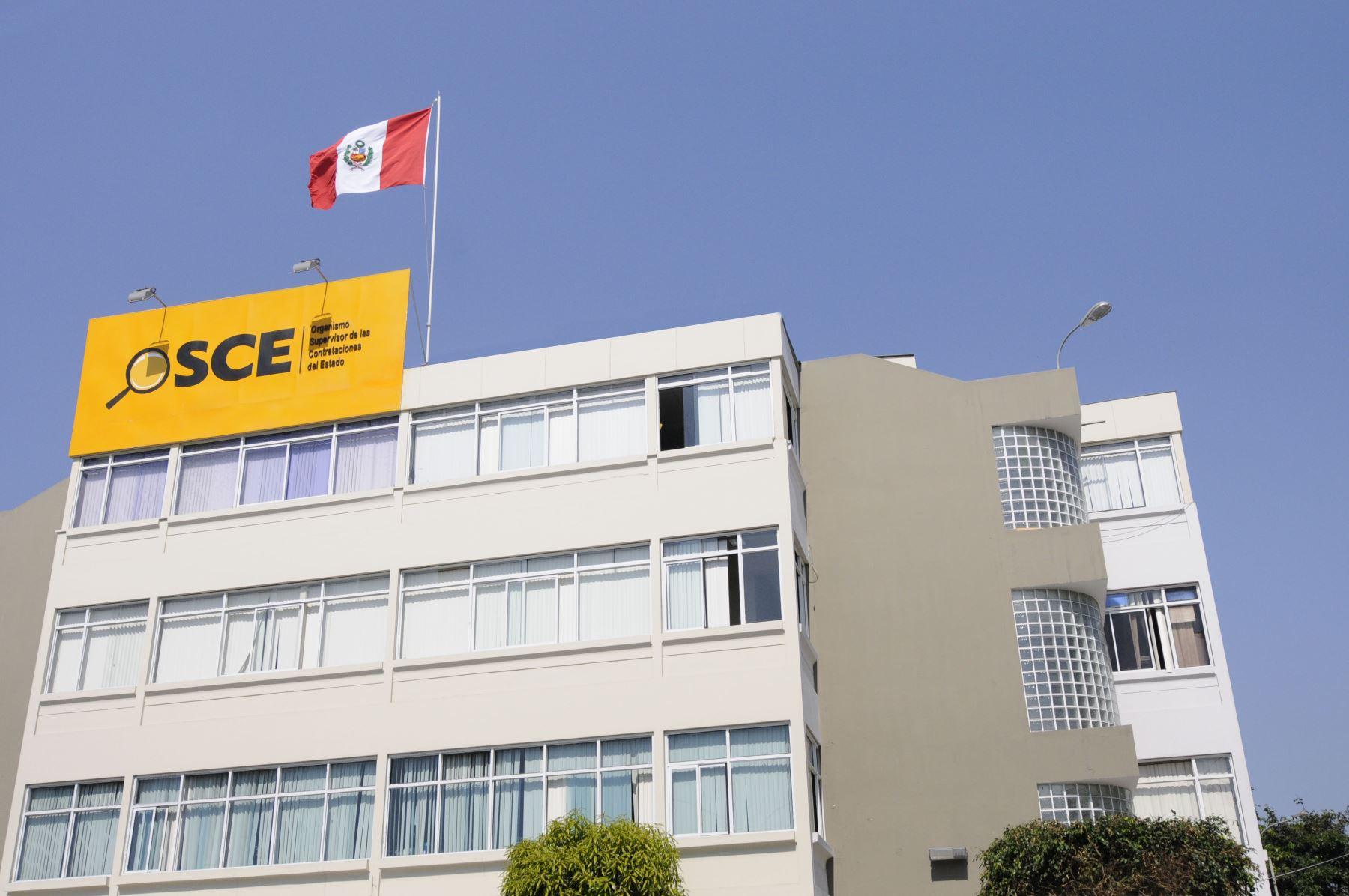 Sede de la OSCE. ANDINA/Difusión