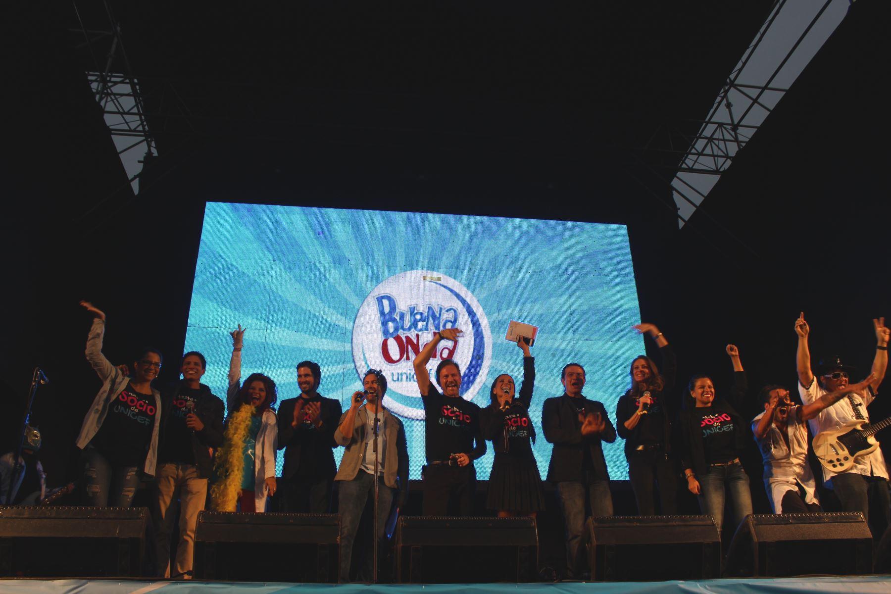 Clausura de campaña Buena Onda 2014 de Unicef.