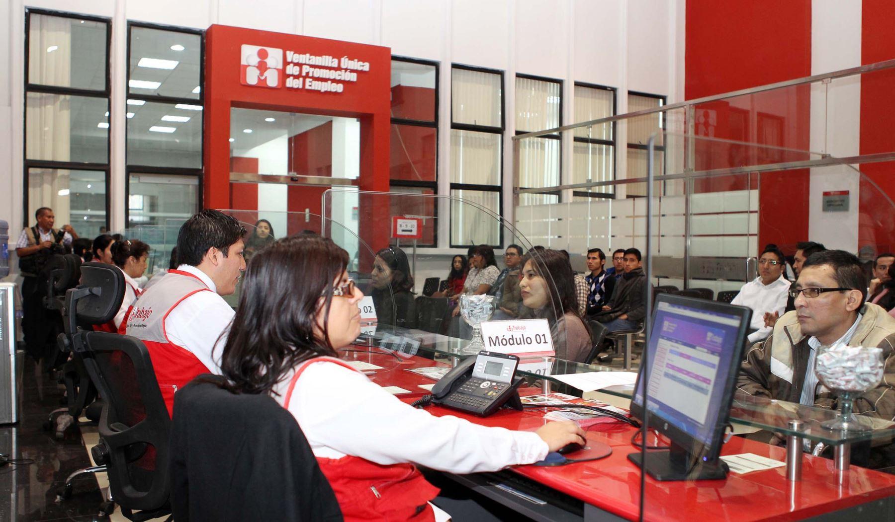 Inauguran en san juan de lurigancho oficina que ayuda a encontrar empleos noticias agencia - Oficina del servicio andaluz de empleo ...