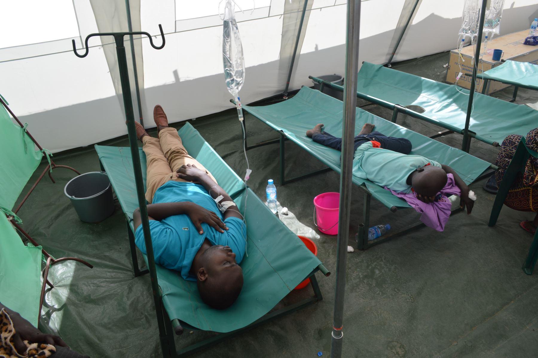 UNICEF alerta brote de cólera que ha matado a 75 personas en Camerún. Foto: AFP