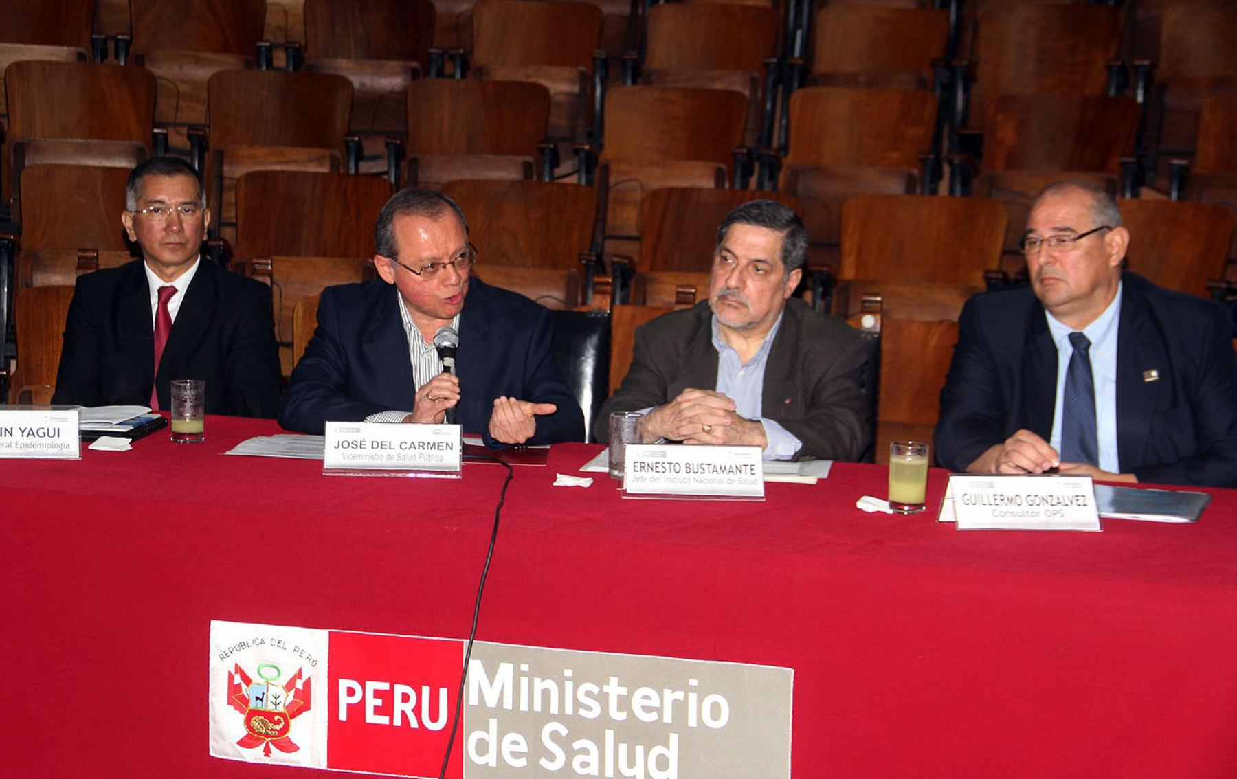 Viceministro de Salud Pública, José Del Carmen Sara.