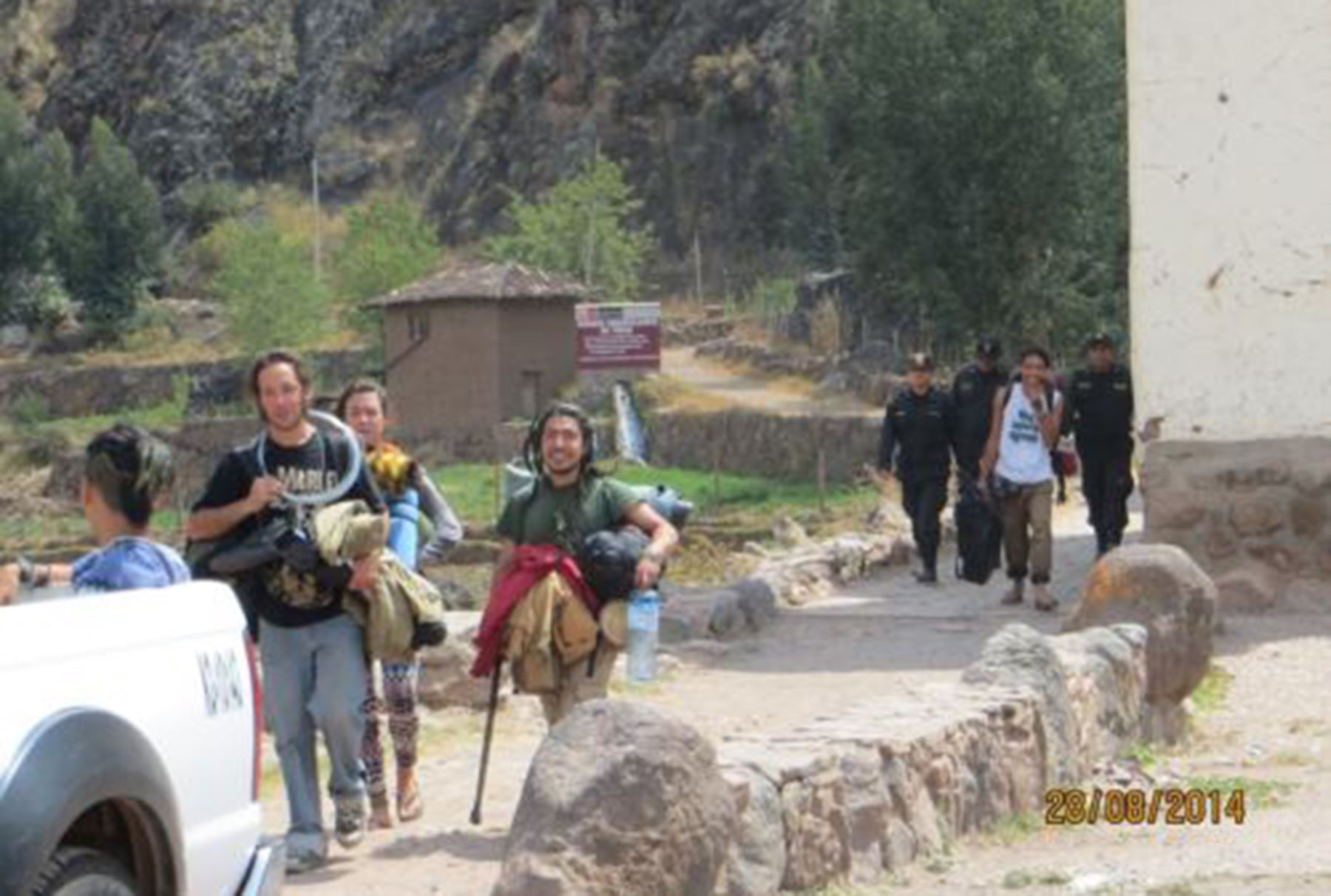 Extranjeros en Cusco son detenidos por infringir ley de extranjería.