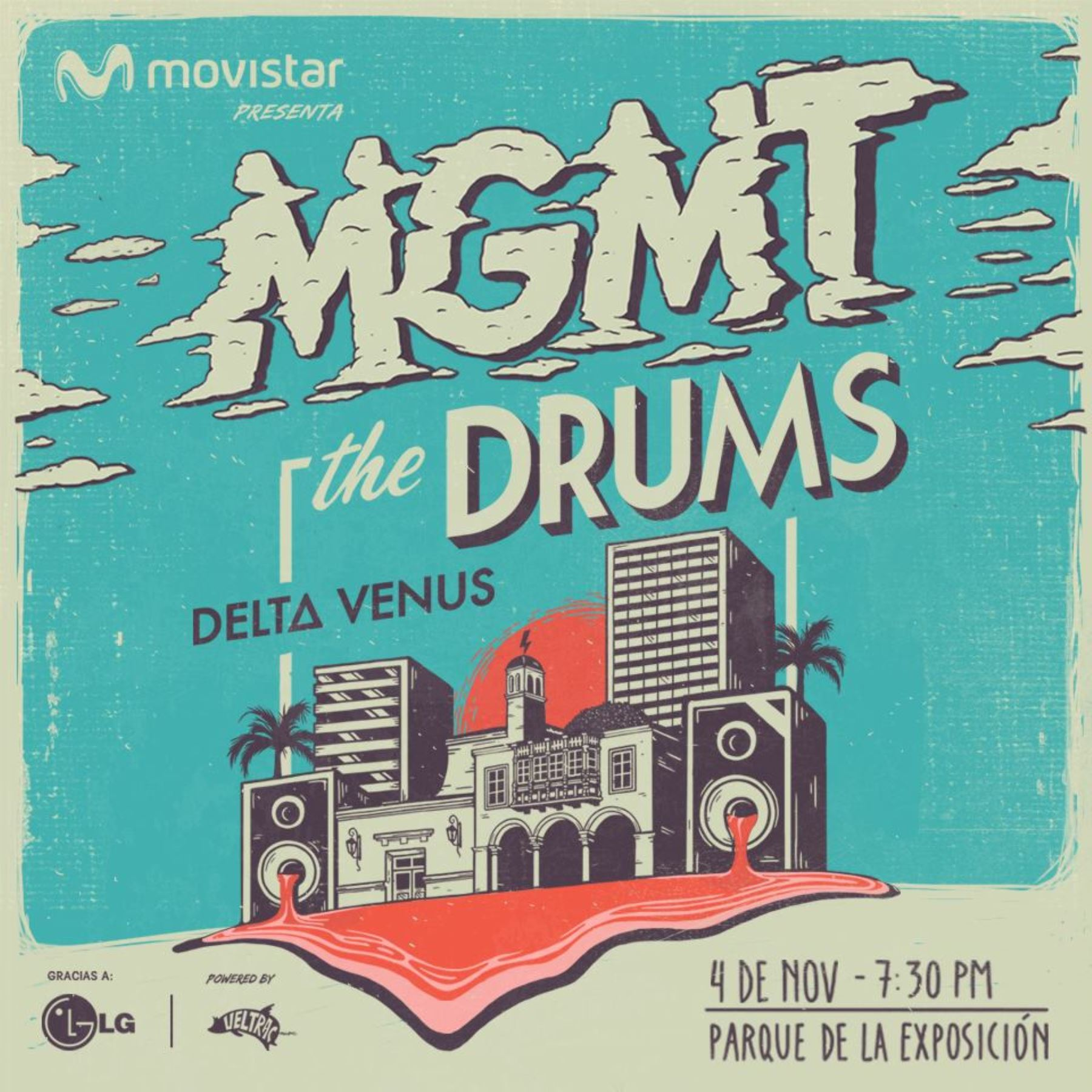 MGMT and The Drums