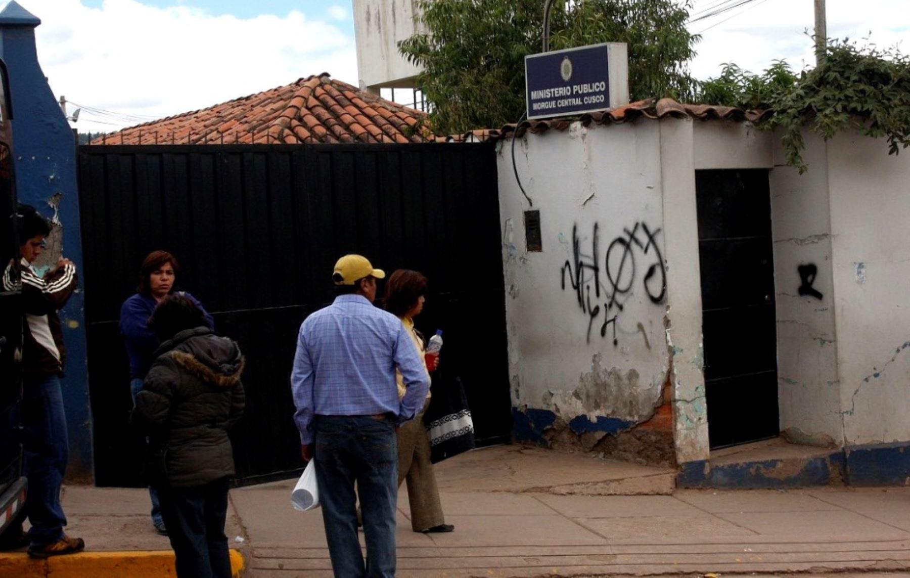 Morgue de la ciudad del Cusco.