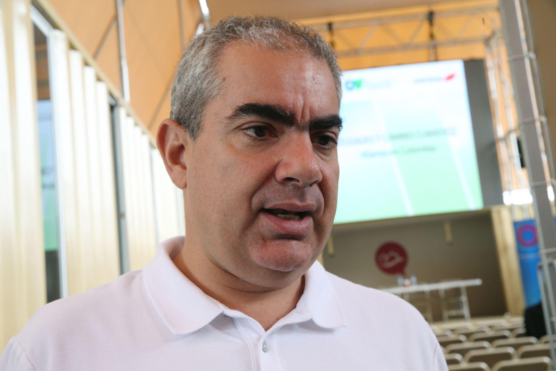 Alcalde de San Isidro Manuel Velarde. Foto: ANDINA/Norman Córdova