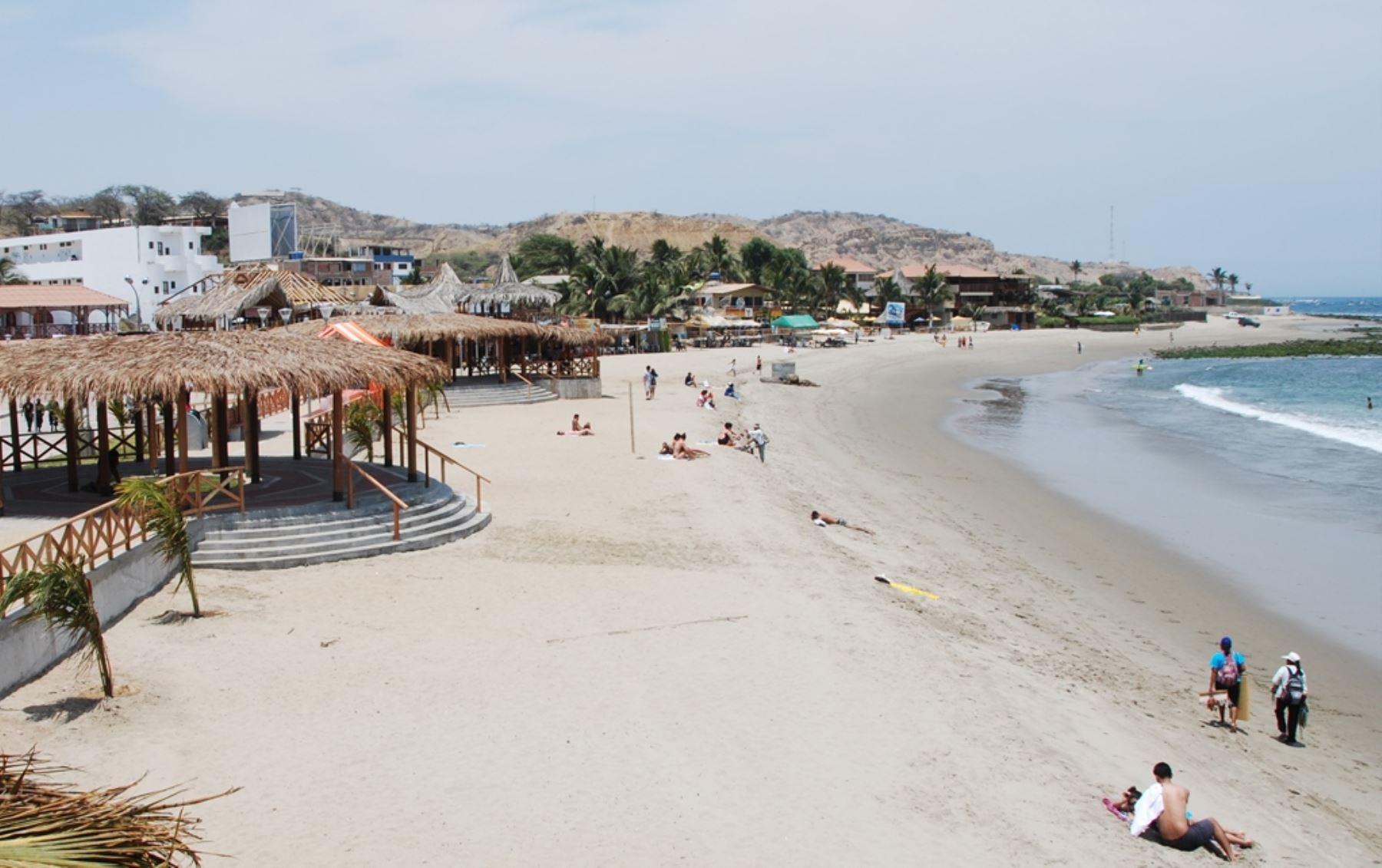 Reportaron mayor número de turistas ecuatorianos en Tumbes. ANDINA/Archivo