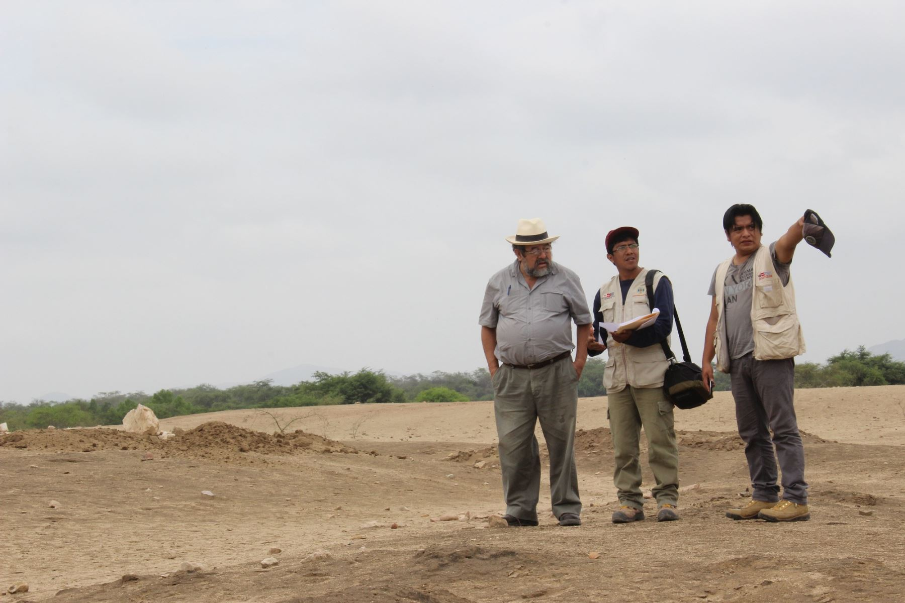 Investigaciones a cargo de Walter Alva, iniciarán investigaciones arqueológicas en tres sitios de ocupación Mochica.
