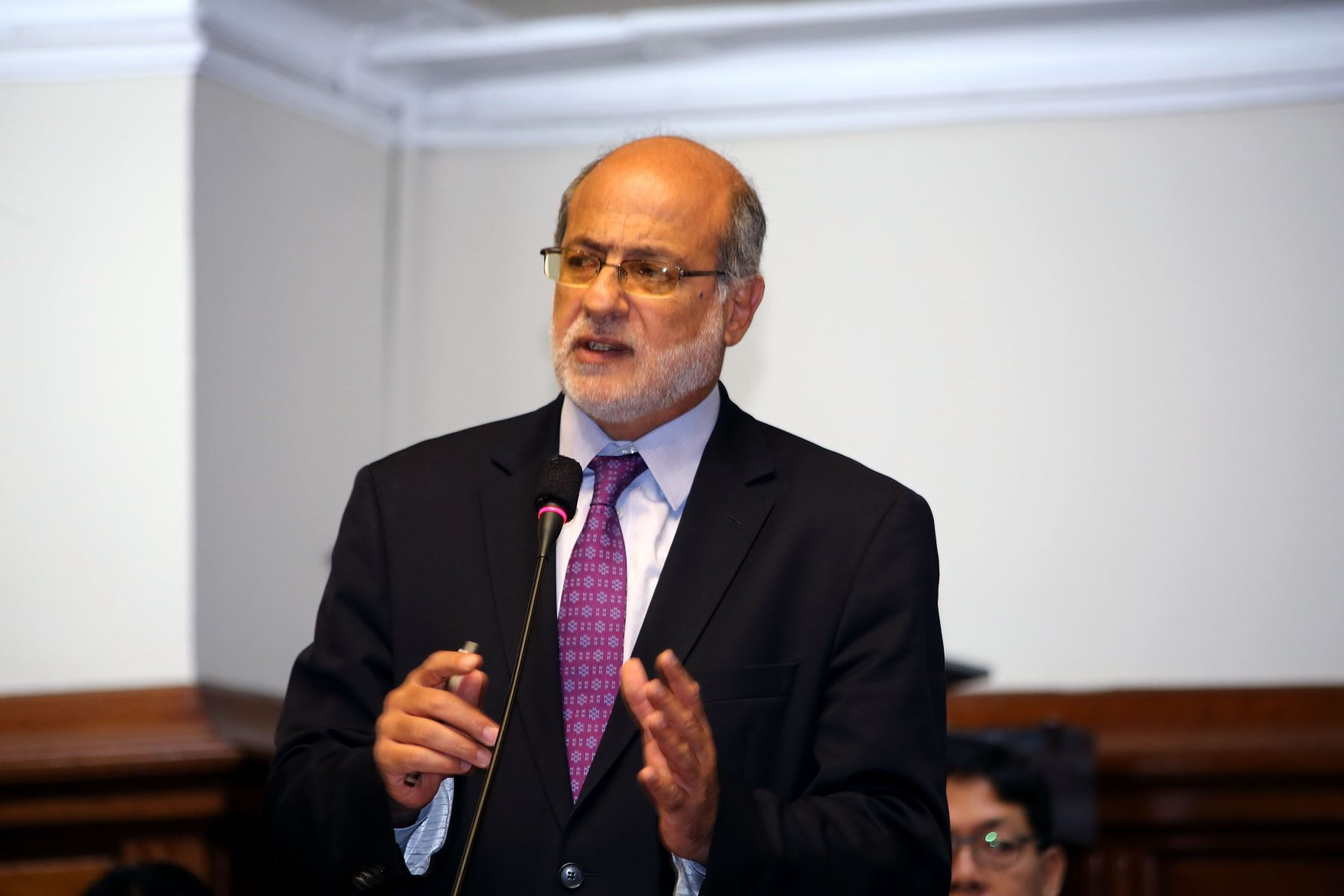 Legislador Daniel Abugattás. ANDINA/Difusión