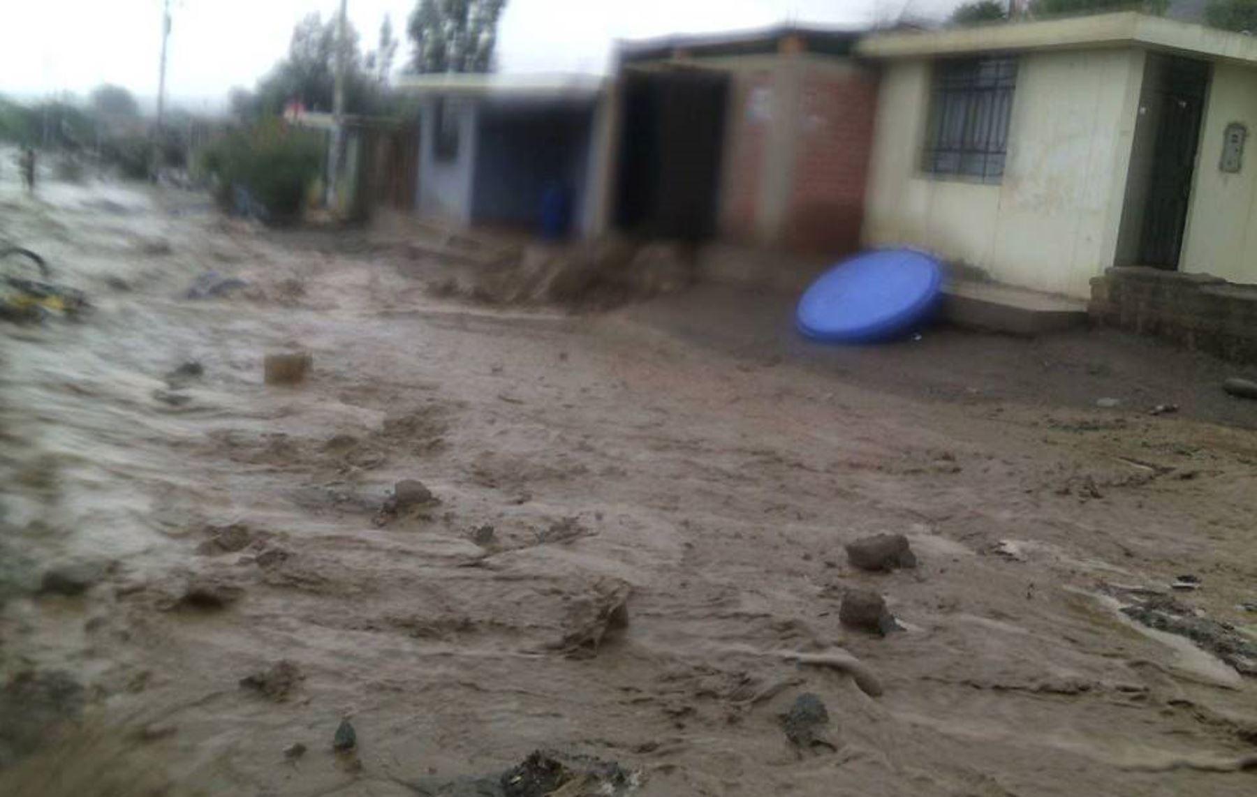 Caravelí es una de las provincias más afectadas por las lluvias y desborde de ríos en la región Arequipa. ANDINA/Internet