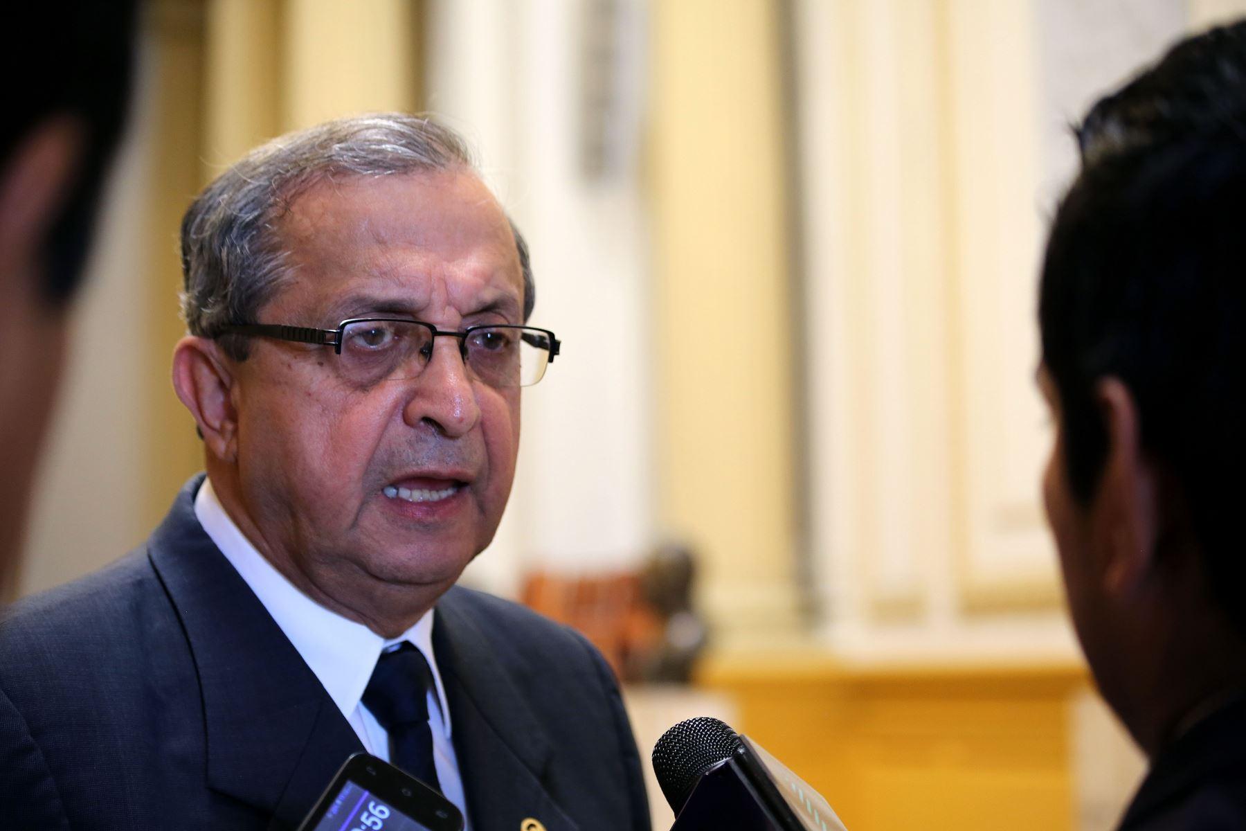 Congresista Daniel Mora, presidente de la Comisión de Educación del Congreso de la República. ANDINA/Difusión