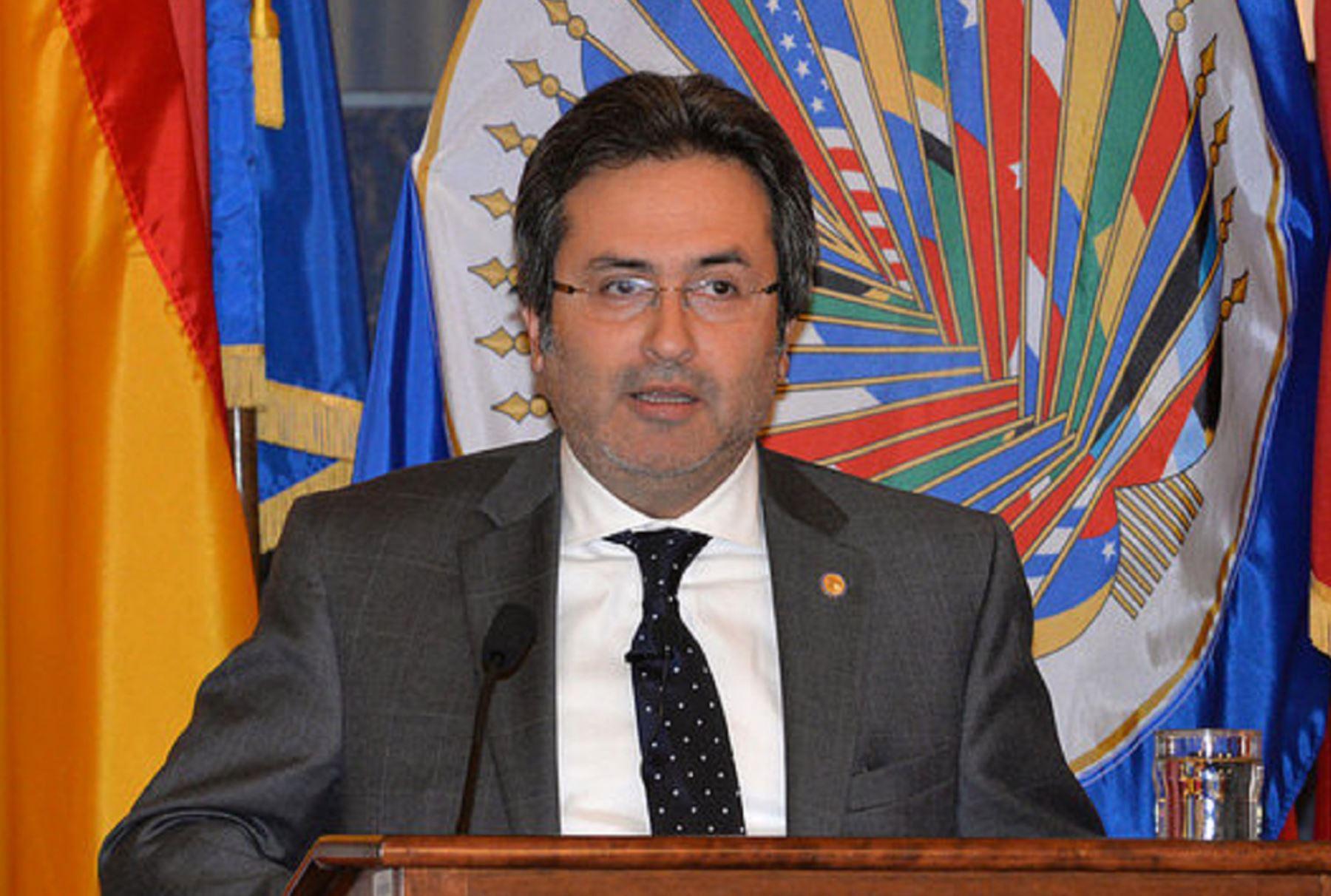Embajador Juan Jiménez participa en reunión de la Organización de Estados Amercianos (OEA) sobre avances en pago de reparaciones