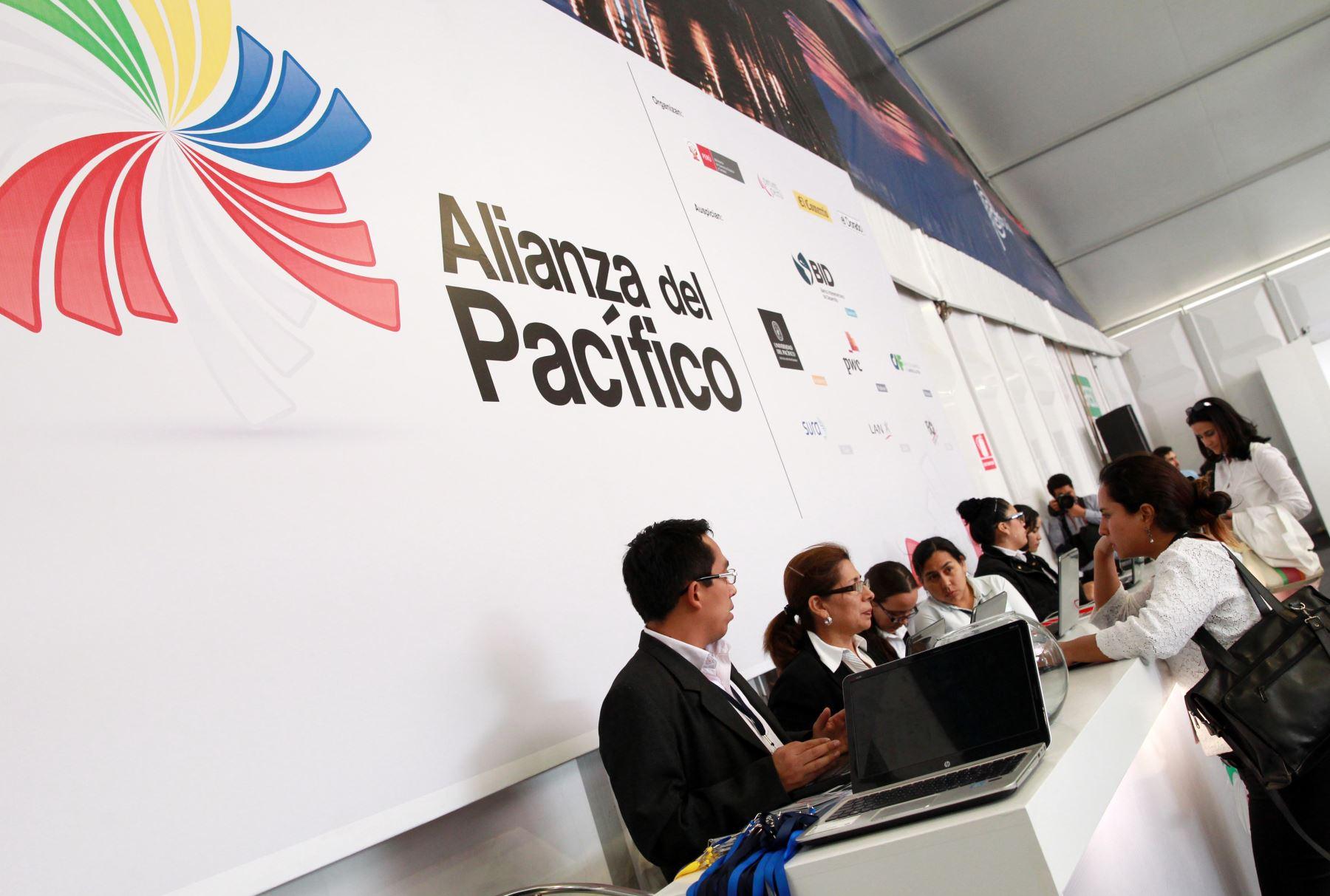 PARACAS PERU, JULIO 1. Cumbre de Empresarios Alianza del Pacifico. Foto: ANDINA/Melina Mejía