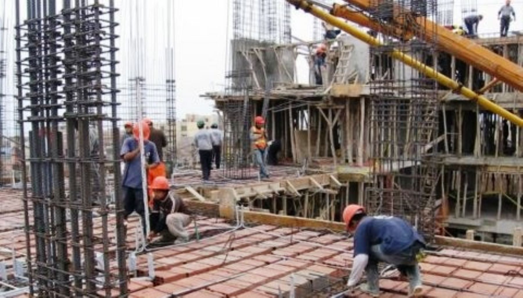 Construcción de edificios.Foto:  ANDINA/Difusión.
