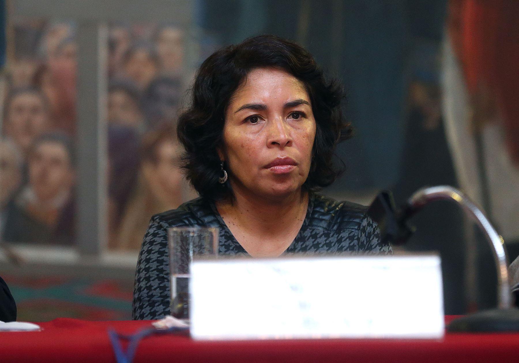 Patricia Balbuena, viceministra de Interculturalidad. Foto: ANDINA/Archivo.