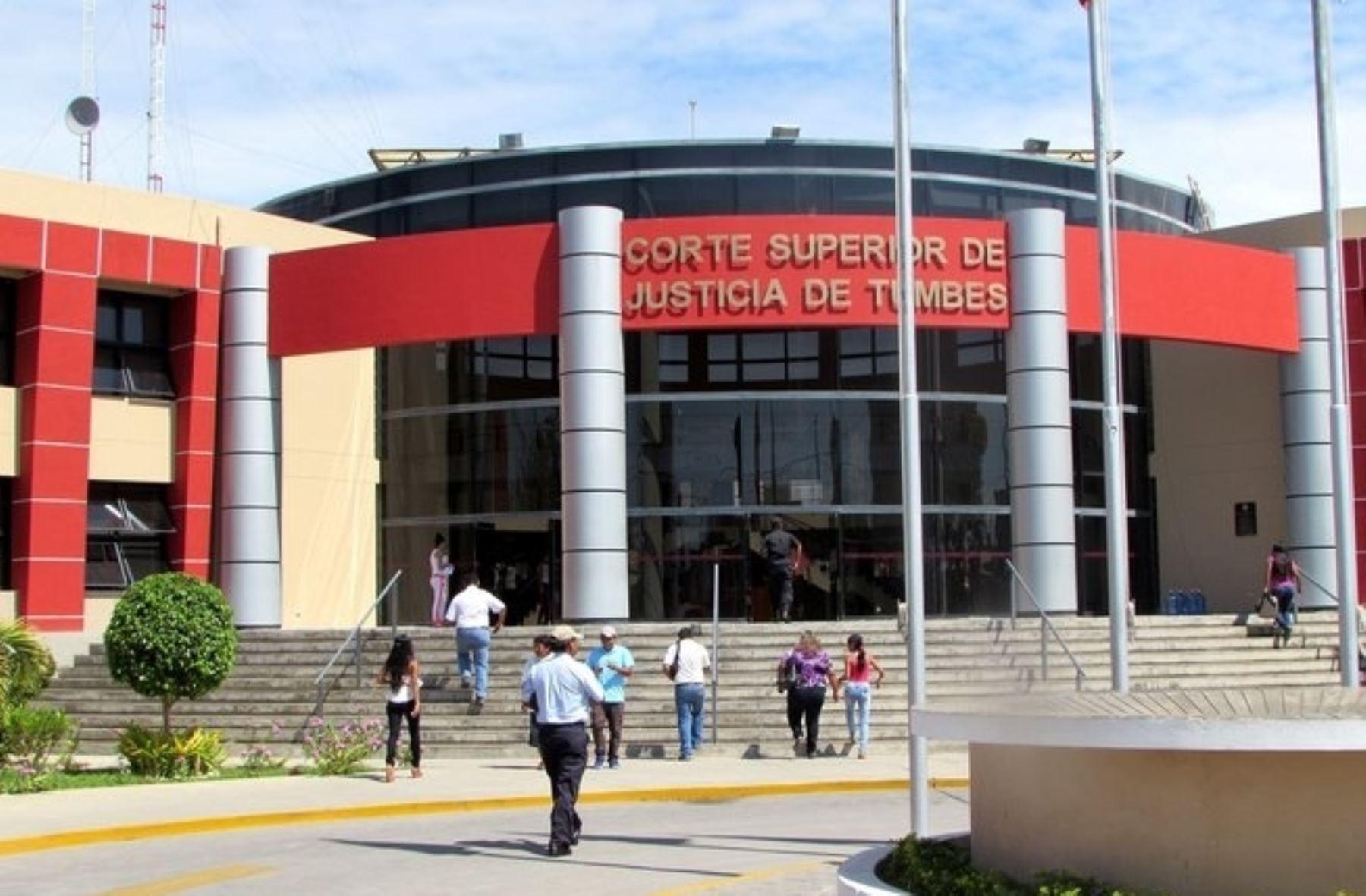 Corte Superior de Justicia de Tumbes. ANDINA/Difusión