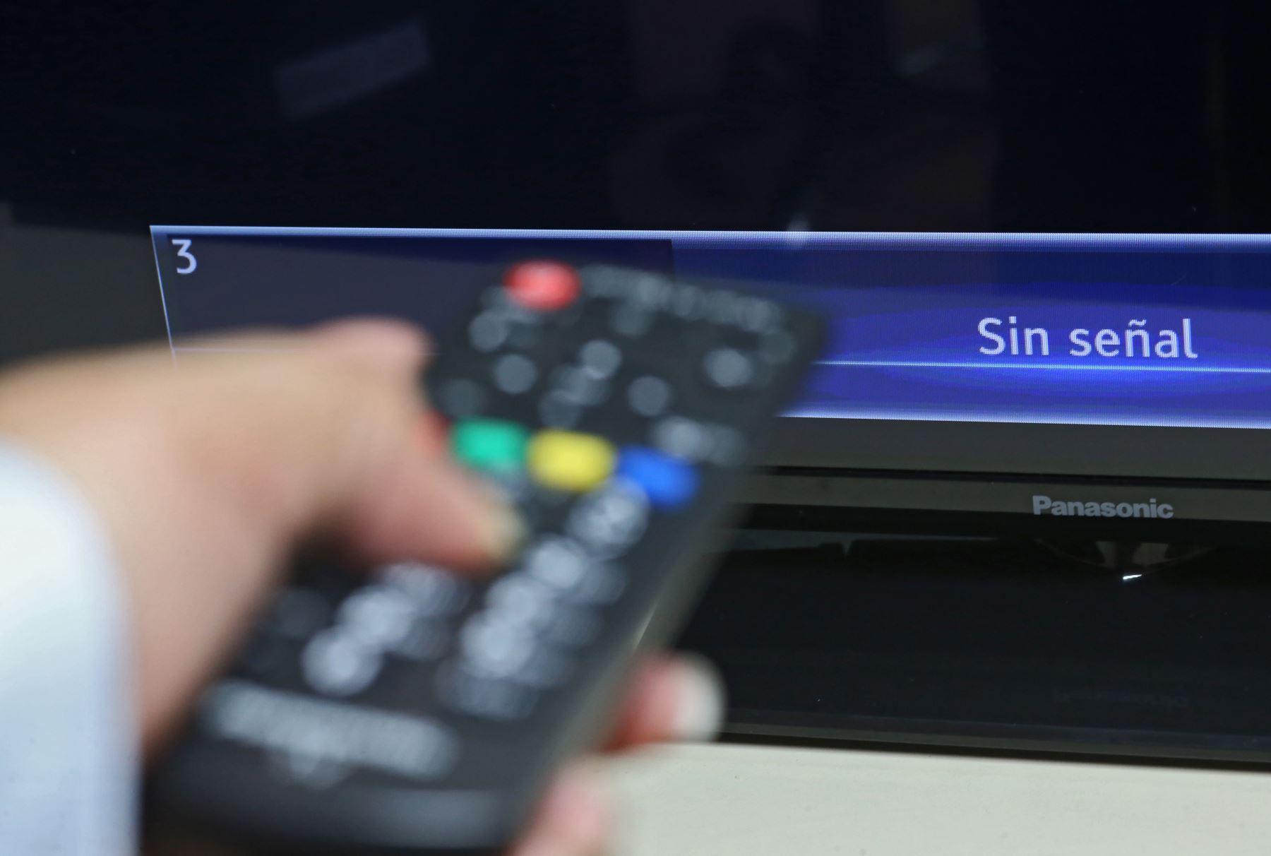 Televisión por cable. ANDINA/archivo