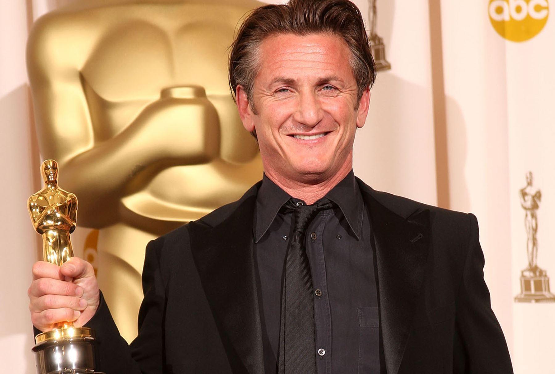 Actor estadounidense Sean Penn.