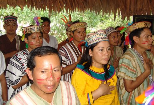 Comunidad nativa. Foto: ANDINA/Difusión
