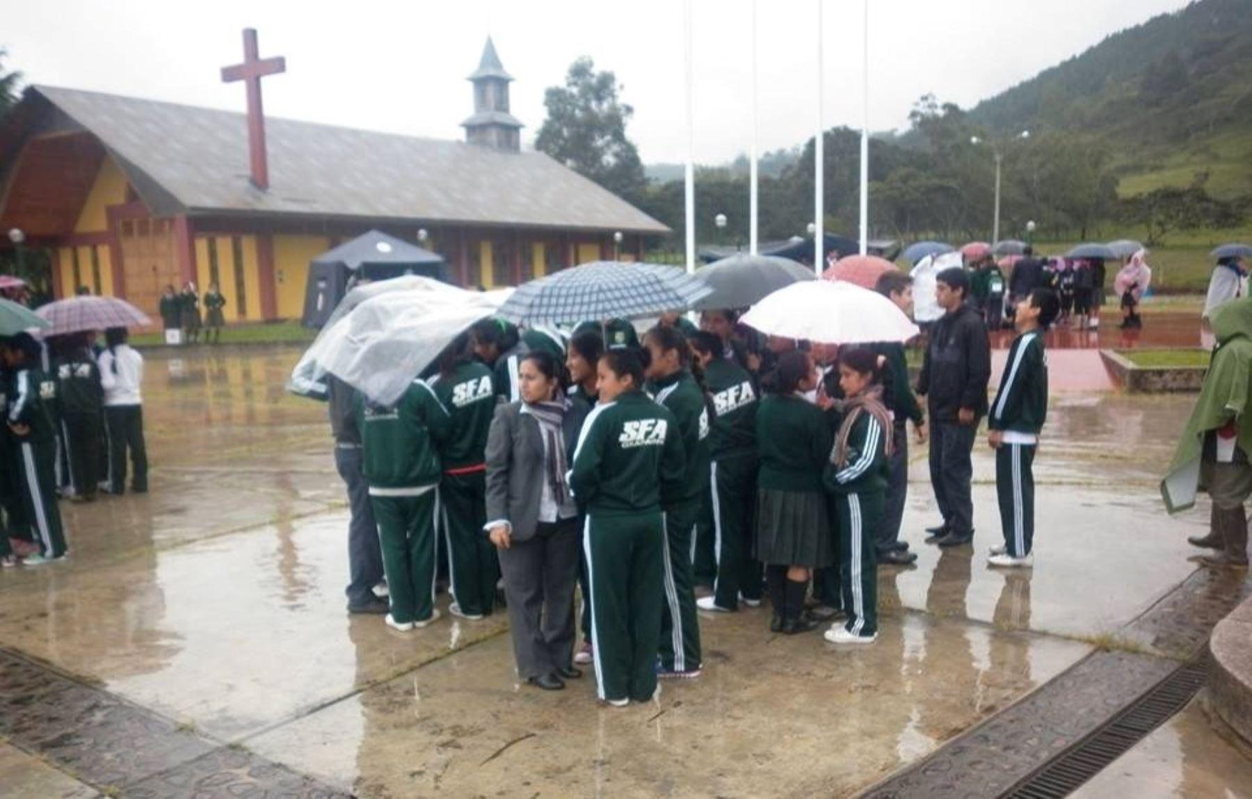 Lluvias intensas se presentan desde hoy en 53 provincias de la selva. ANDINA