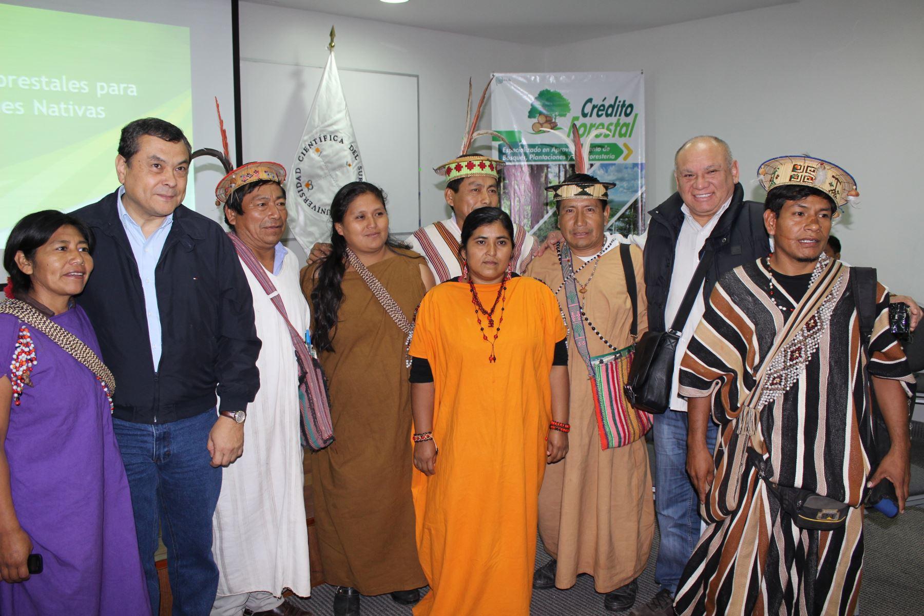 Agrobanco promueve alianzas para reforestación en comunidades nativas. Foto: Difusión.
