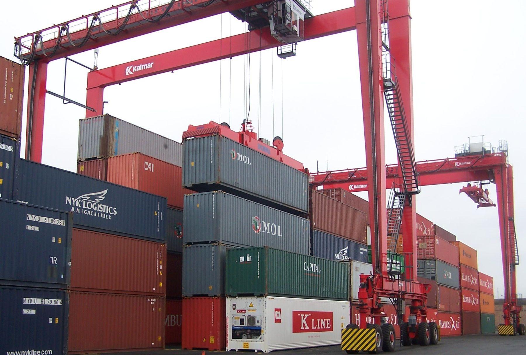 Exportaciones. Foto: ANDINA/archivo